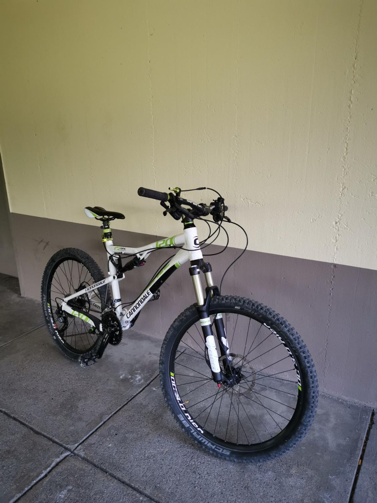 Mtb Cannondale Rz One Twenty 2 26 Zoll Fully in 82256