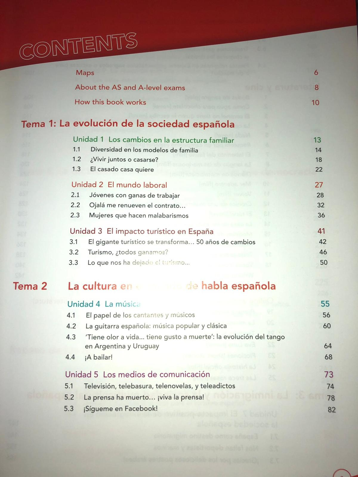 Edexcel A Level Spanish Textbook In Cr0 London For 13 00