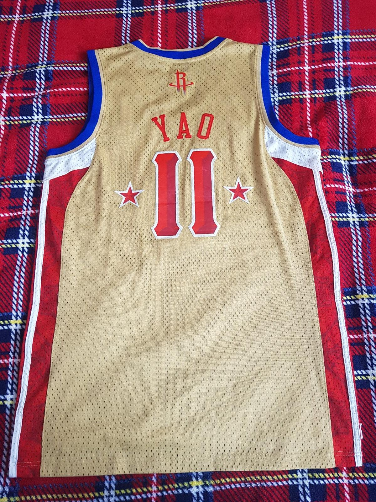 low priced e3594 d86e9 nba all star west yao ming Jersey Large 46