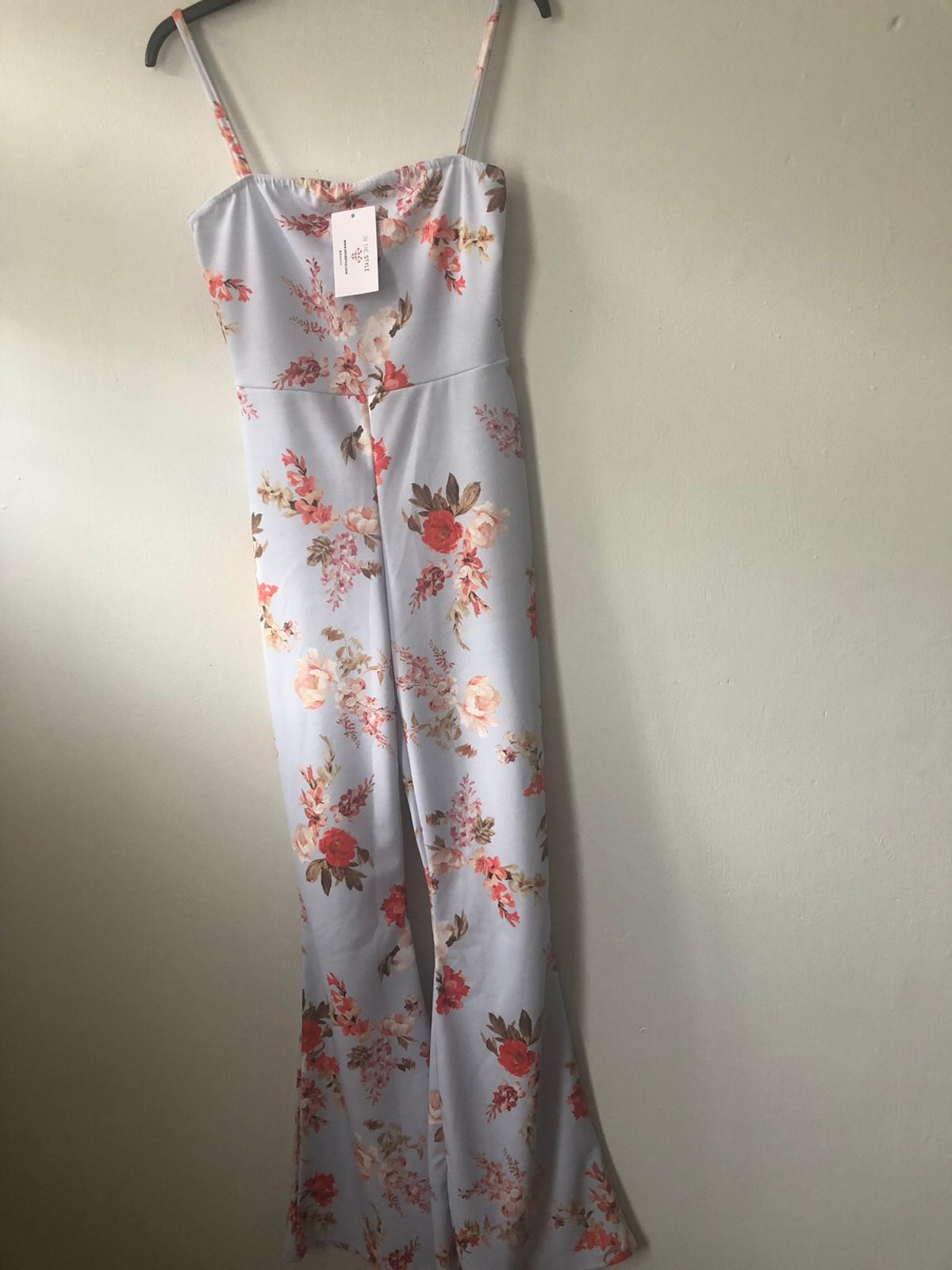 Brand new Jumpsuit with tag on size10