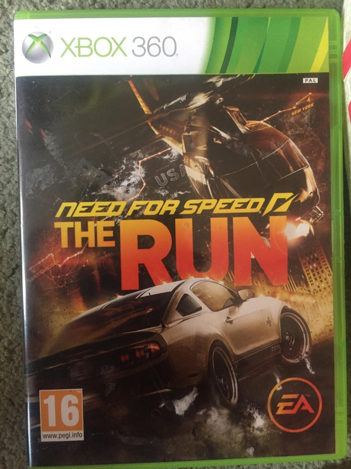 New Need for speed The run Xbox 360 game