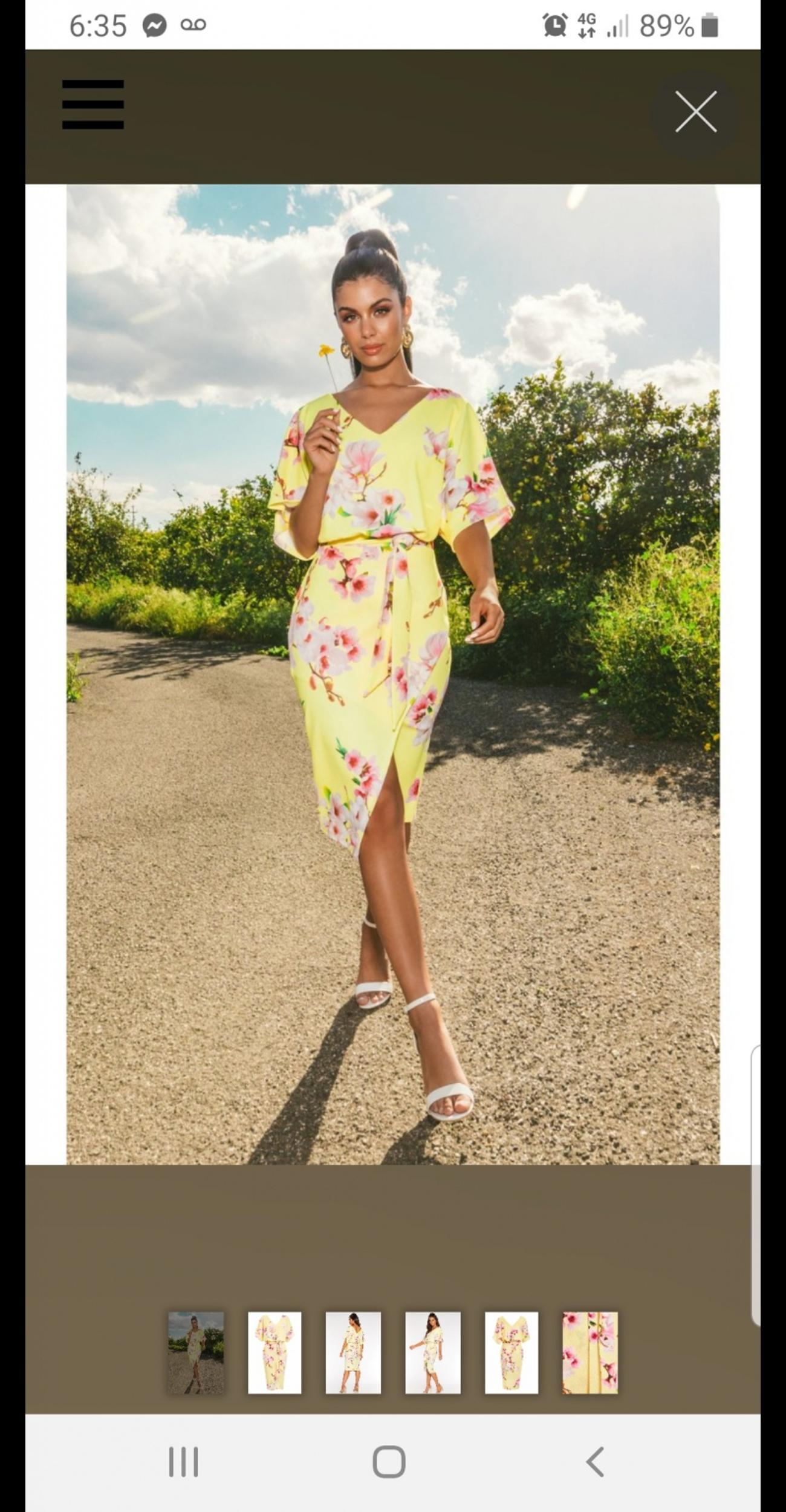 Sam faiers, excellent condition, new out this season, still available in quiz, gorgeous dress size 10