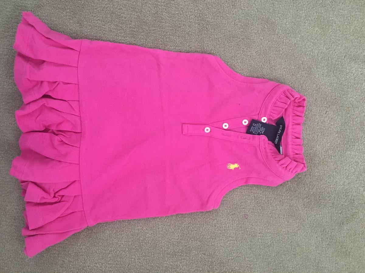 Girls dress Age 12 months From smoke and pet free home