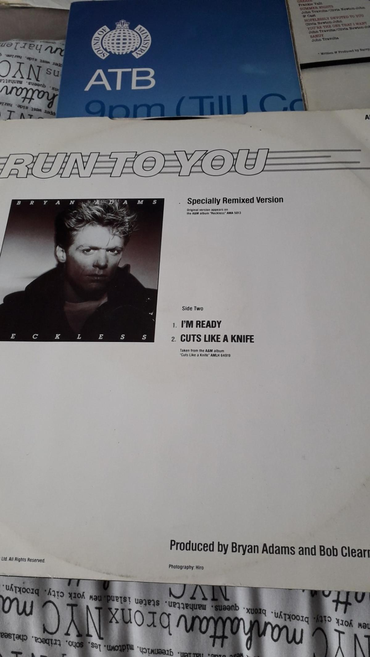 vinyl run to you collection only