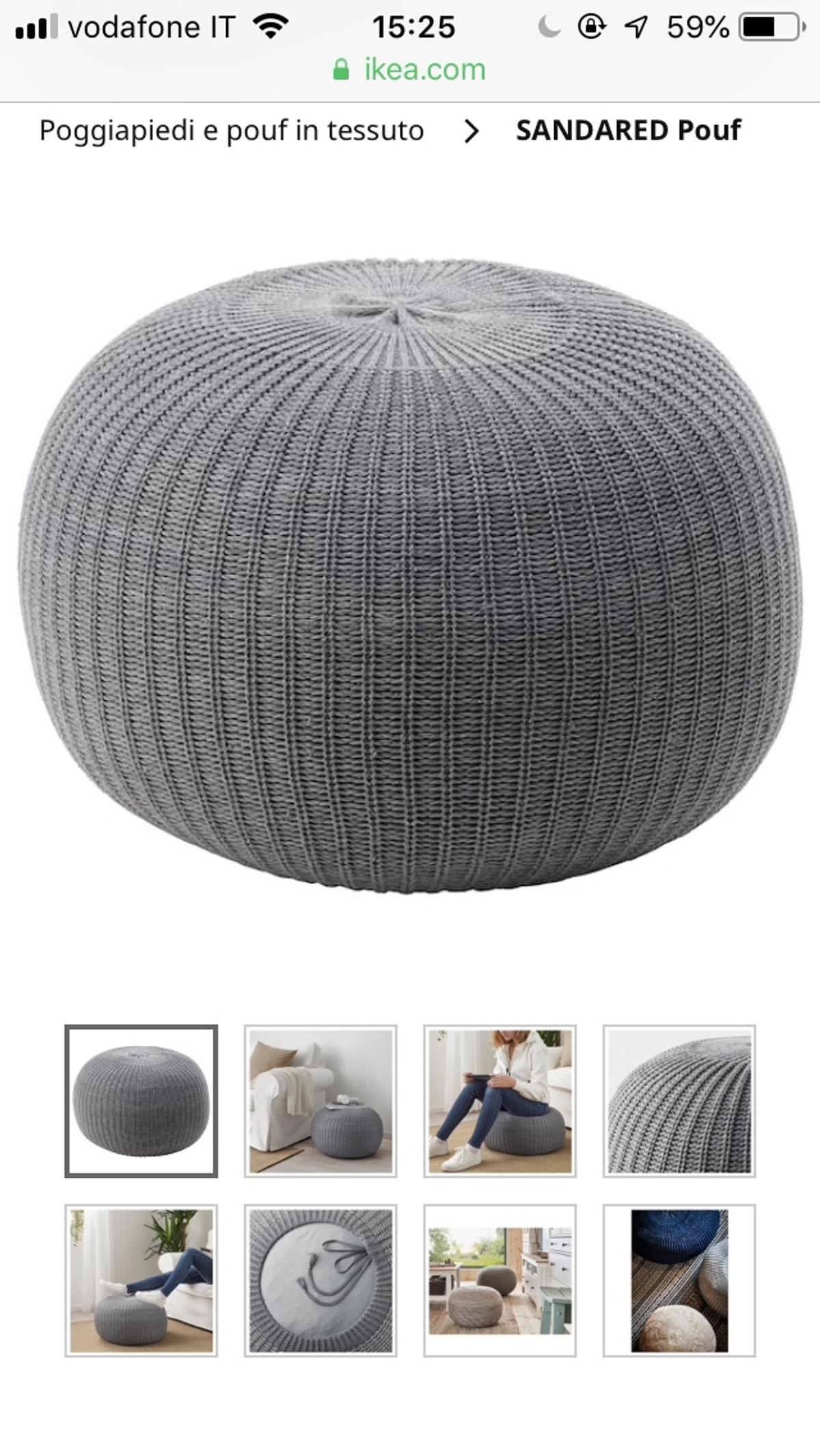 Pouf Ikea Sandared In 20146 Milano For 25 00 For Sale Shpock