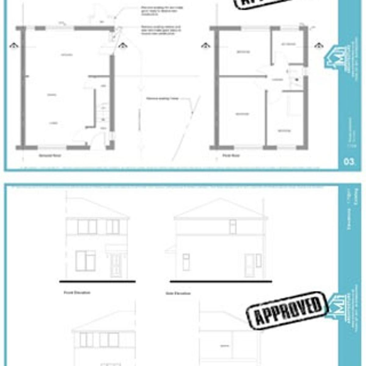 Architectural Drawings ~ £550 for a limited time only!  - House extensions - Loft Conversions - Garage Conversion - Dropped curb applications - Planning Applications - Building Regs Applications  Our easy 3 Step process will enable your project to run hustle free.  STAGE 1 - Consultation Meeting with the client, discuss ideas, write and agree on the brief, conduct laser measured survey of your property. Produce existing and proposed floor plans. Once Agreed, we then move on to next stage of design.  STAGE 2 - Detailed design We will produce a full set of detailed drawings (existing and proposed) Ground floor - First Floor - Roof and Site plan - Front elevation - Rear elevation - Side elevation - Section elevation - Construction Details - Specifications.  STAGE 3 - Application submissions. We send your drawings and fill out the application forms  Extra services 1. Structural engineers Design and Calculations if required  Drawings will be ready within 2 weeks. No one beat our prices