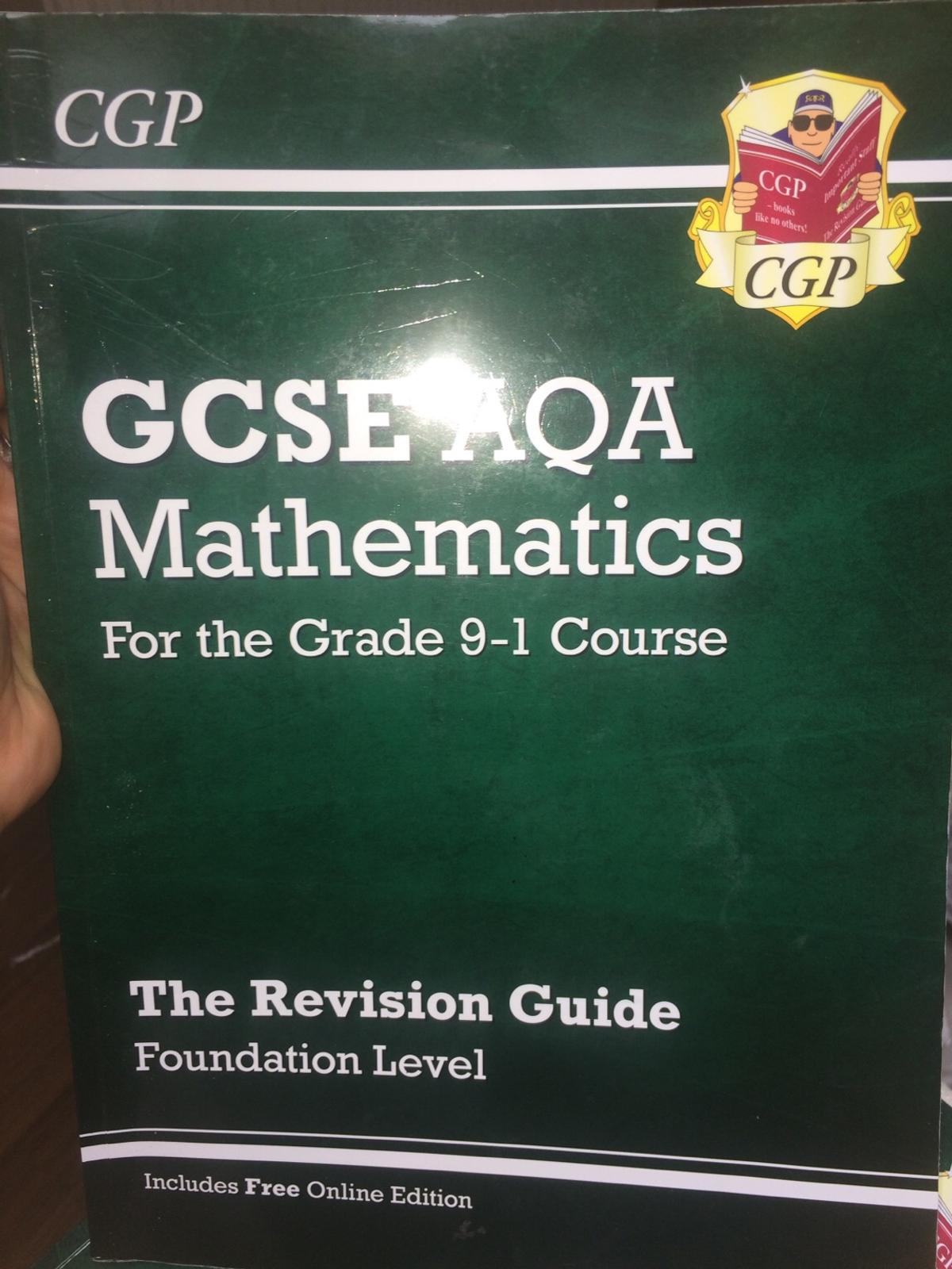 Brand new 1 book for £5 or 2 books for £8 Revision guide Foundation level