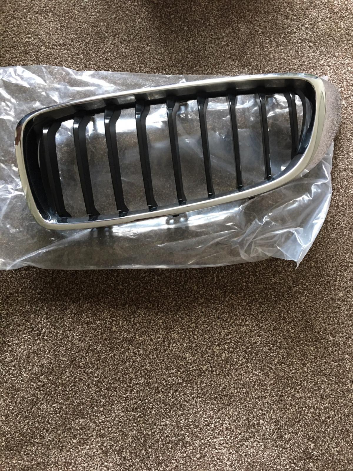 Chrome never been used as replaced with black ones from new  Postage £5 on top or collect.