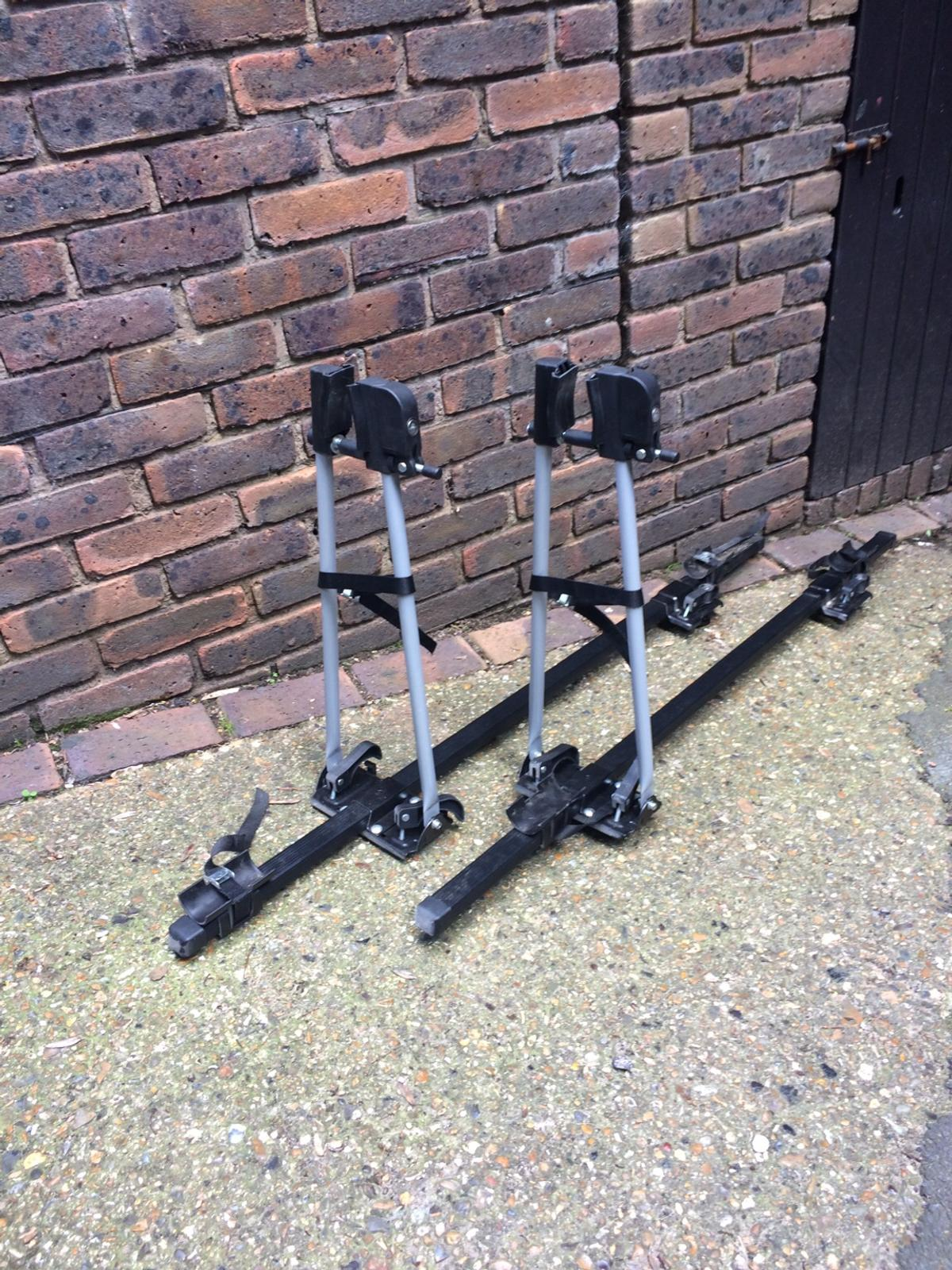 Two roof bar cycle carrier for sale both in excellent condition cycles can be locked to the carrier for added security