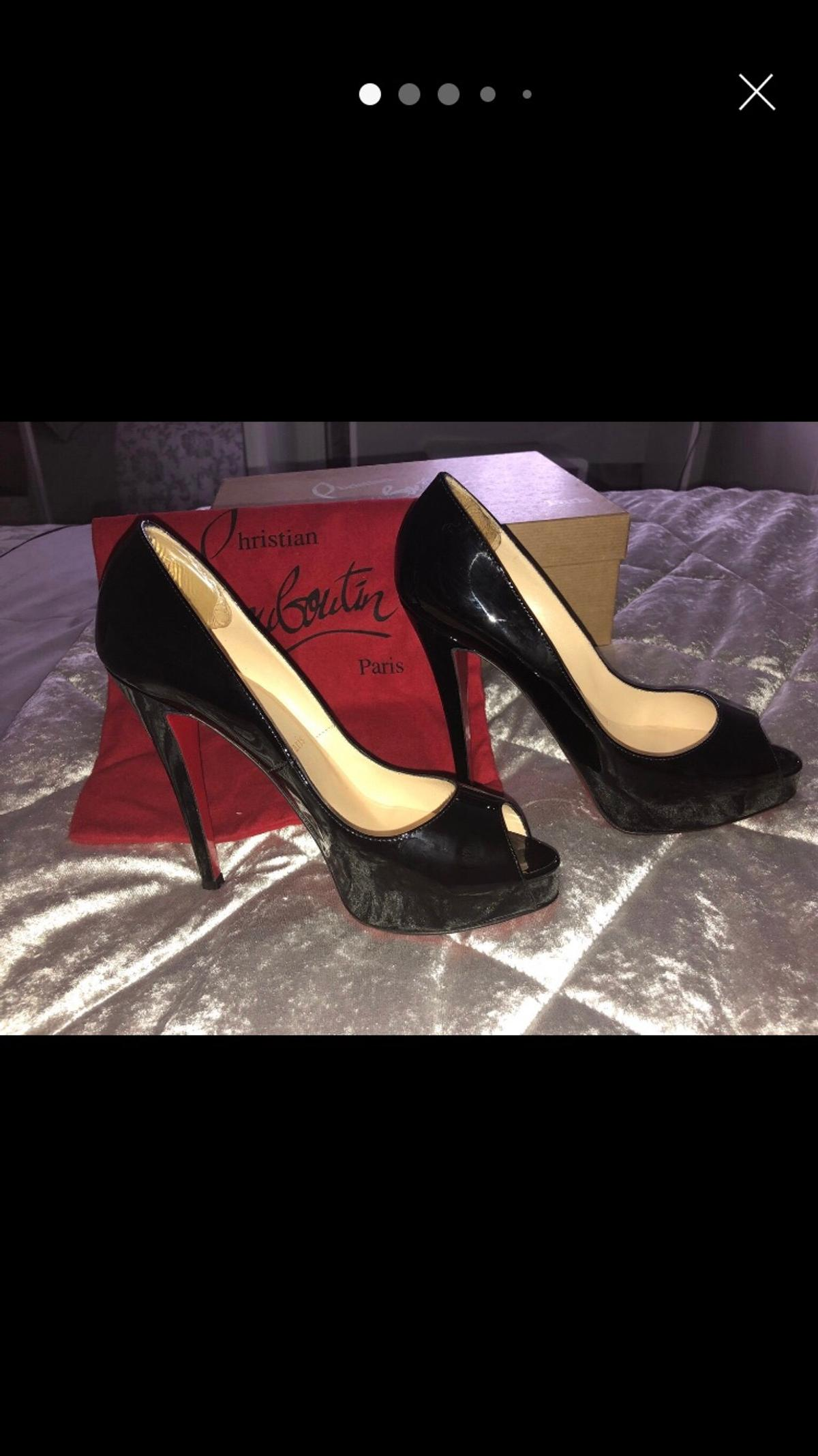 premium selection 6728d 00223 Christian Louboutin Very Prive 120 Size 4/37