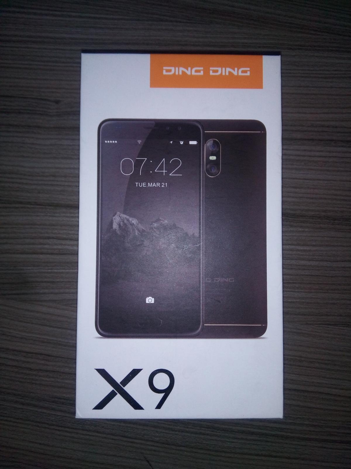 SIM Free Smartphone DING DING X9 4G Storage: 16gb RAM: 3gb Battery: 2800mah Resolution: FHD (1920*1080 Rear camera: 13MP Front camera: 5MP Brand new available!