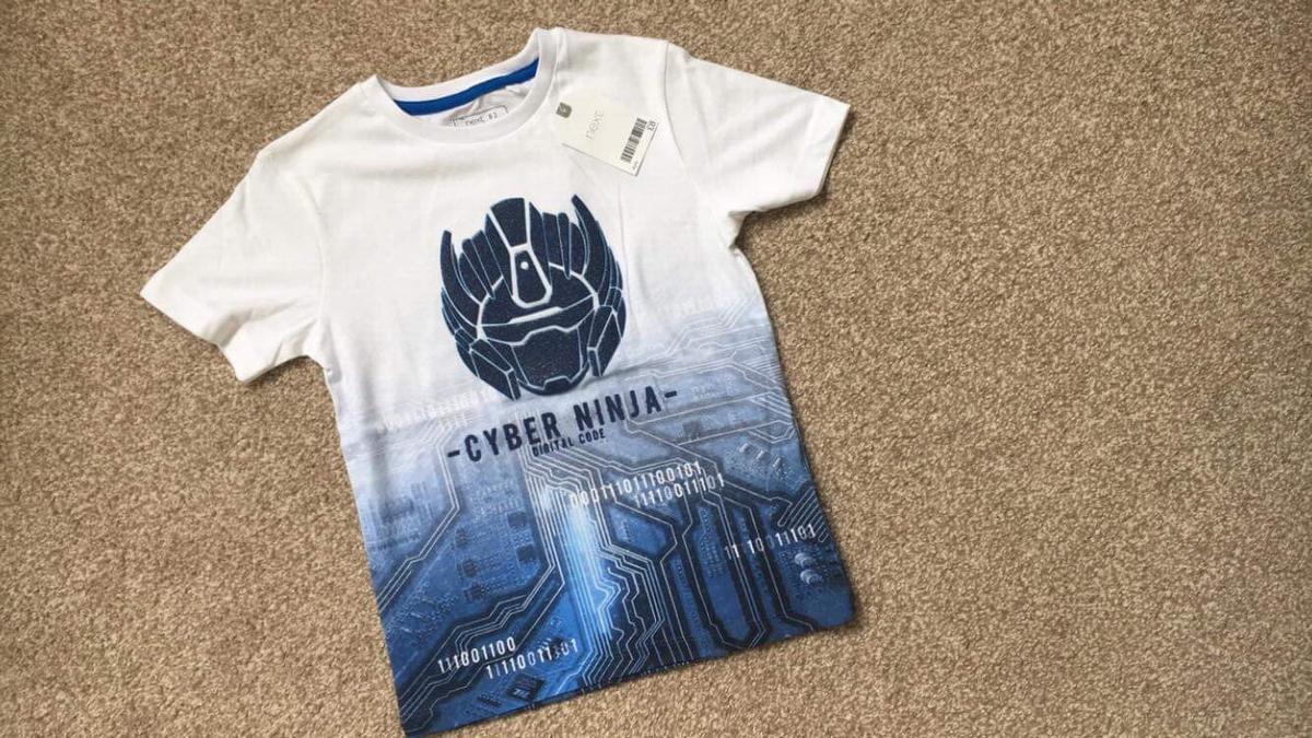 New (Next) T-shirt with price tag for Boy