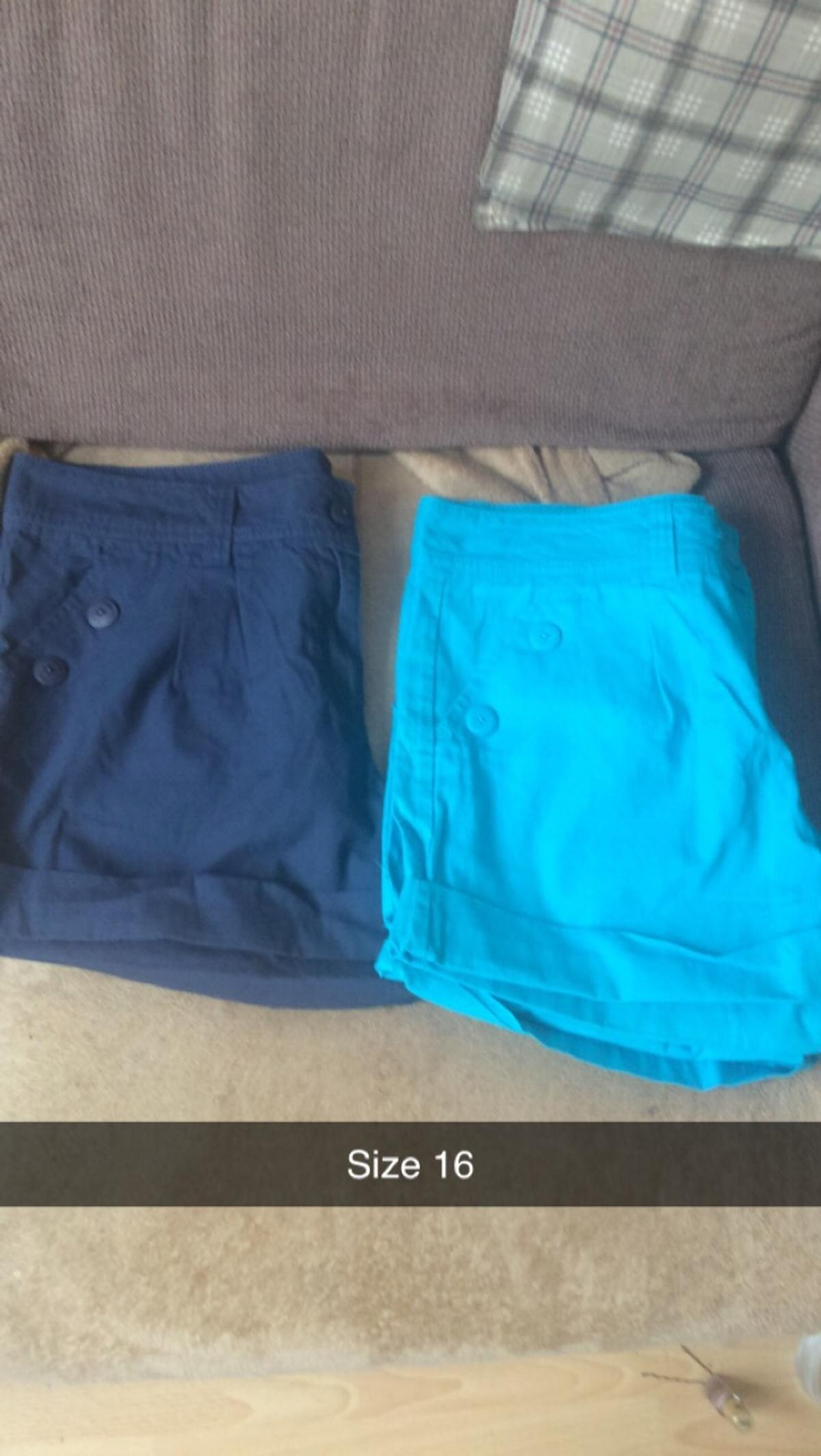 Ladies shorts Never been worn all for £2.50 or will sell separately