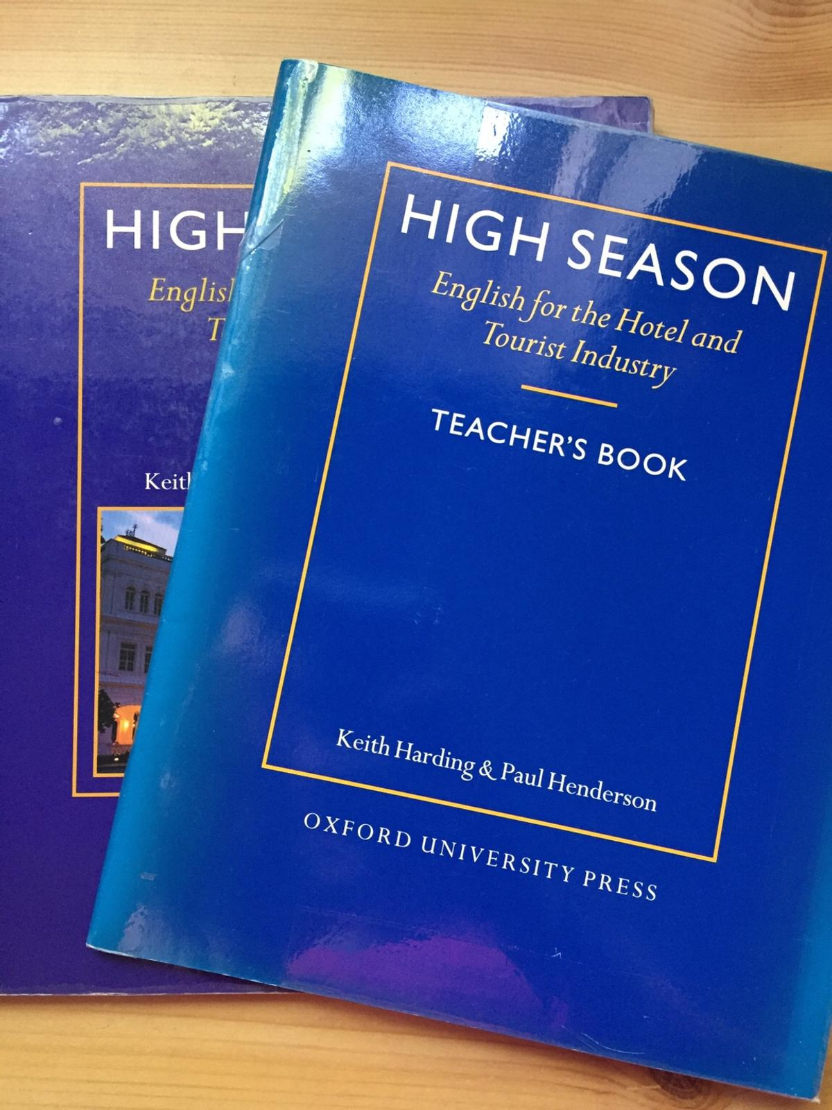 English for the Hotel and Tourist Industry mit Teachers Book gebraucht, gut