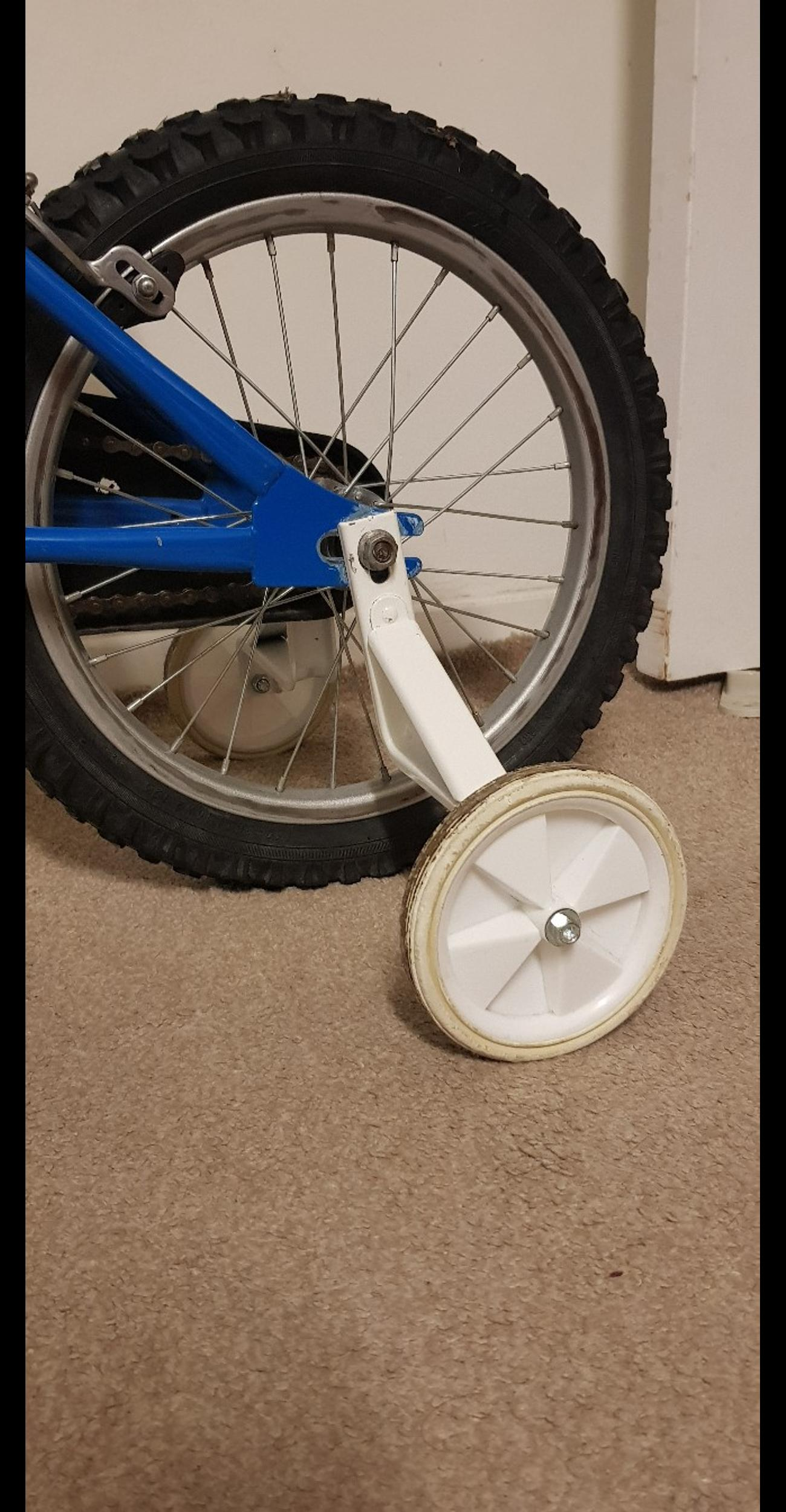 stabilizers for kids bicycle. originally was used on 16 inch bike. price is final.