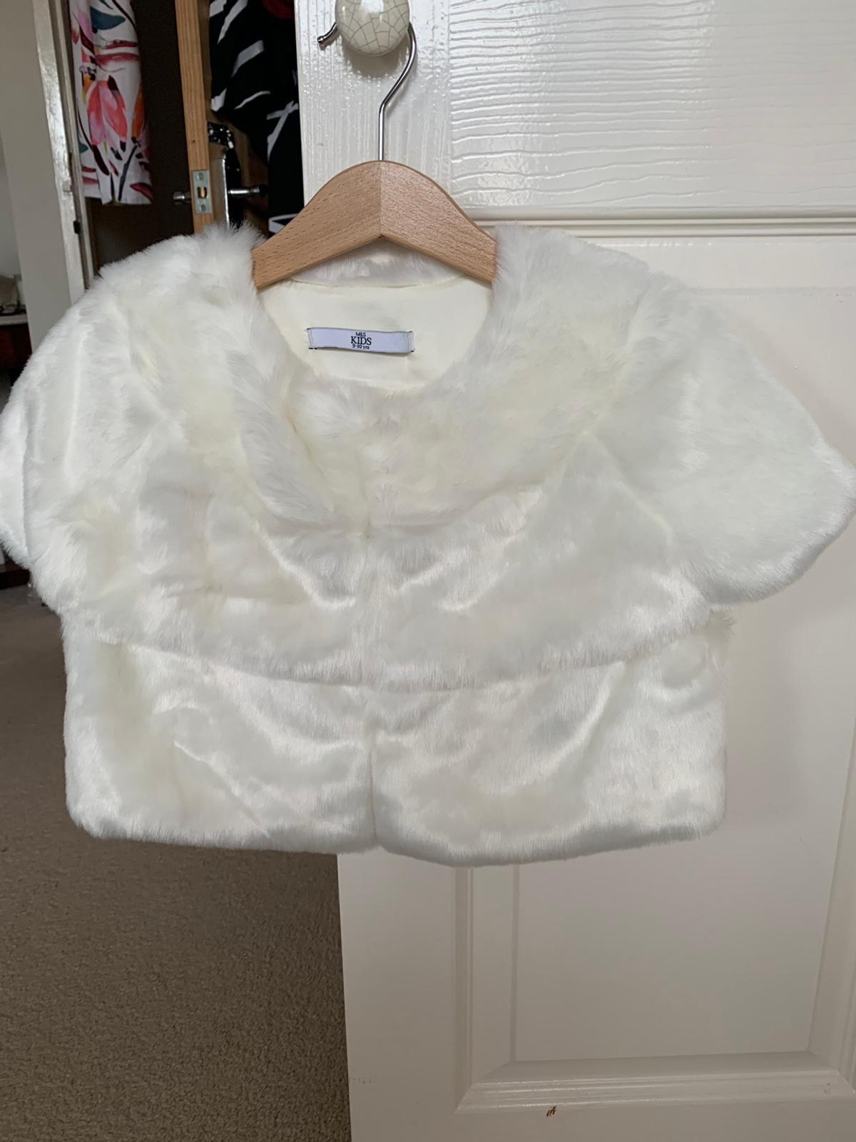 """M&S Unwanted Gift Age: 9-10 Colour: Ivory Length: 31cms (12"""") Cond: NEW. (Was £24) Pick up or post at buyers expense"""