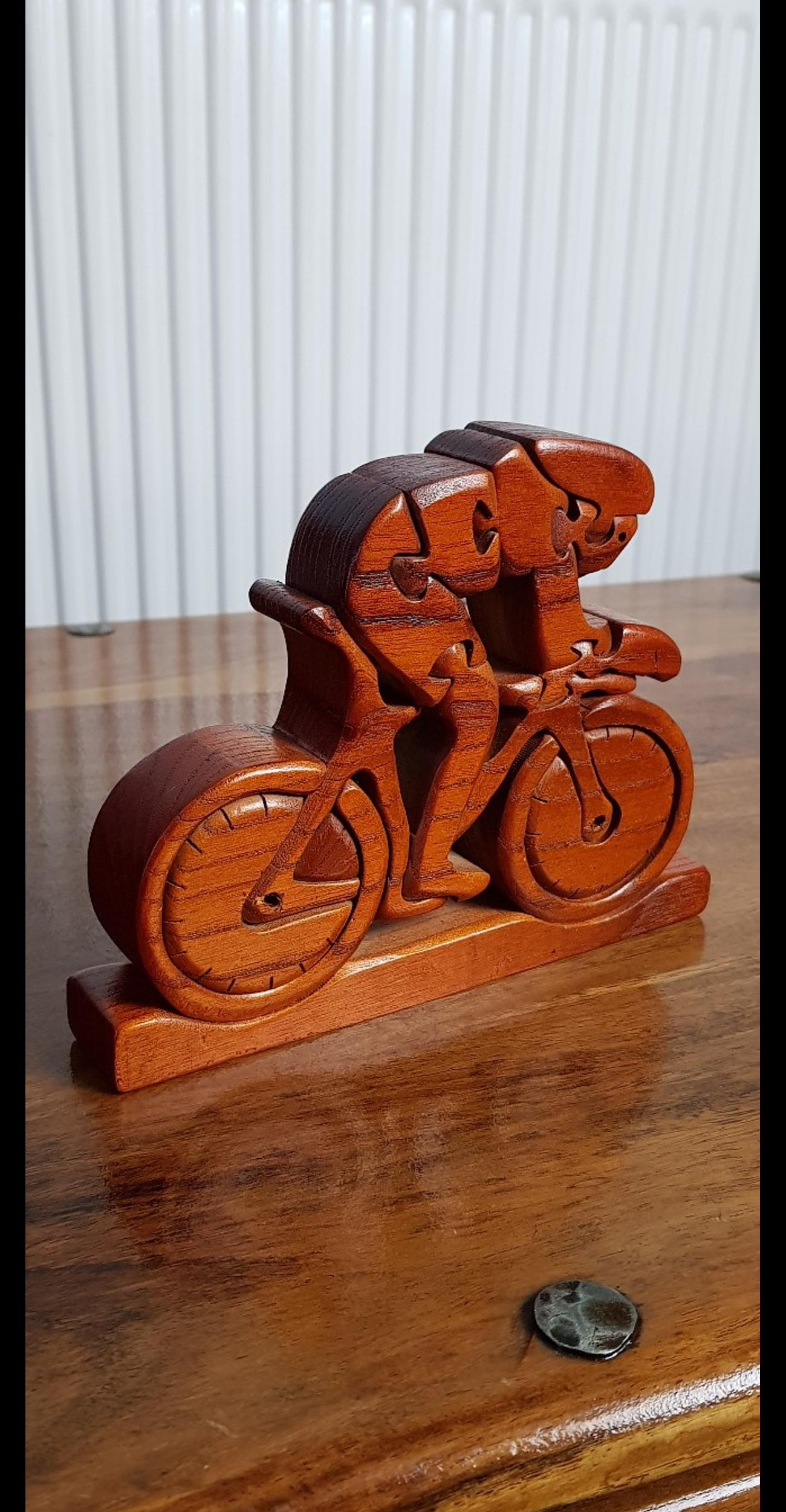 Classic Motorbike 3D Jigsaw Puzzle. Novelty Motorcycle Gifts for Men and Women & Bikers