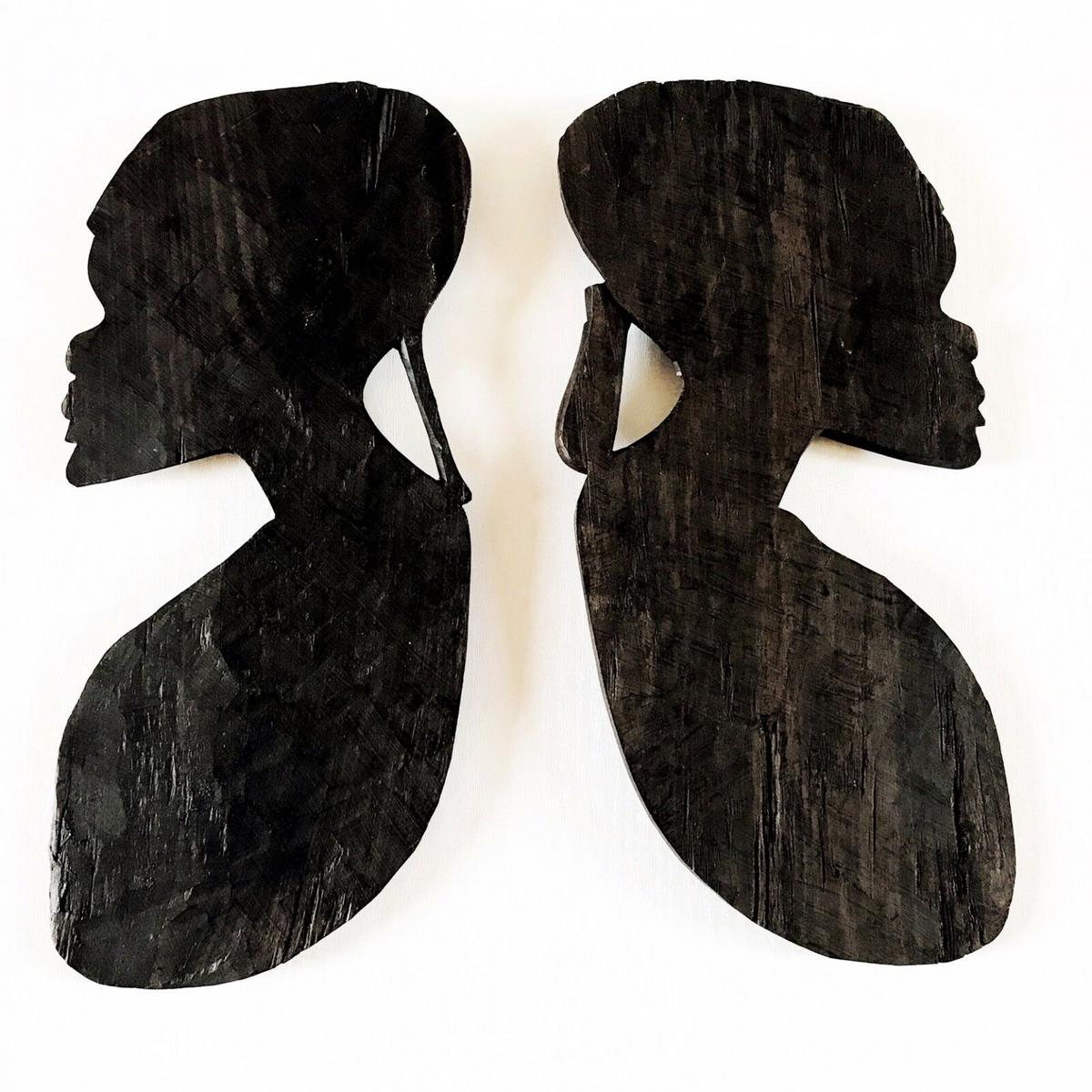 Ebony Wooden Hand Carved Wall Decor In Me15 Maidstone For