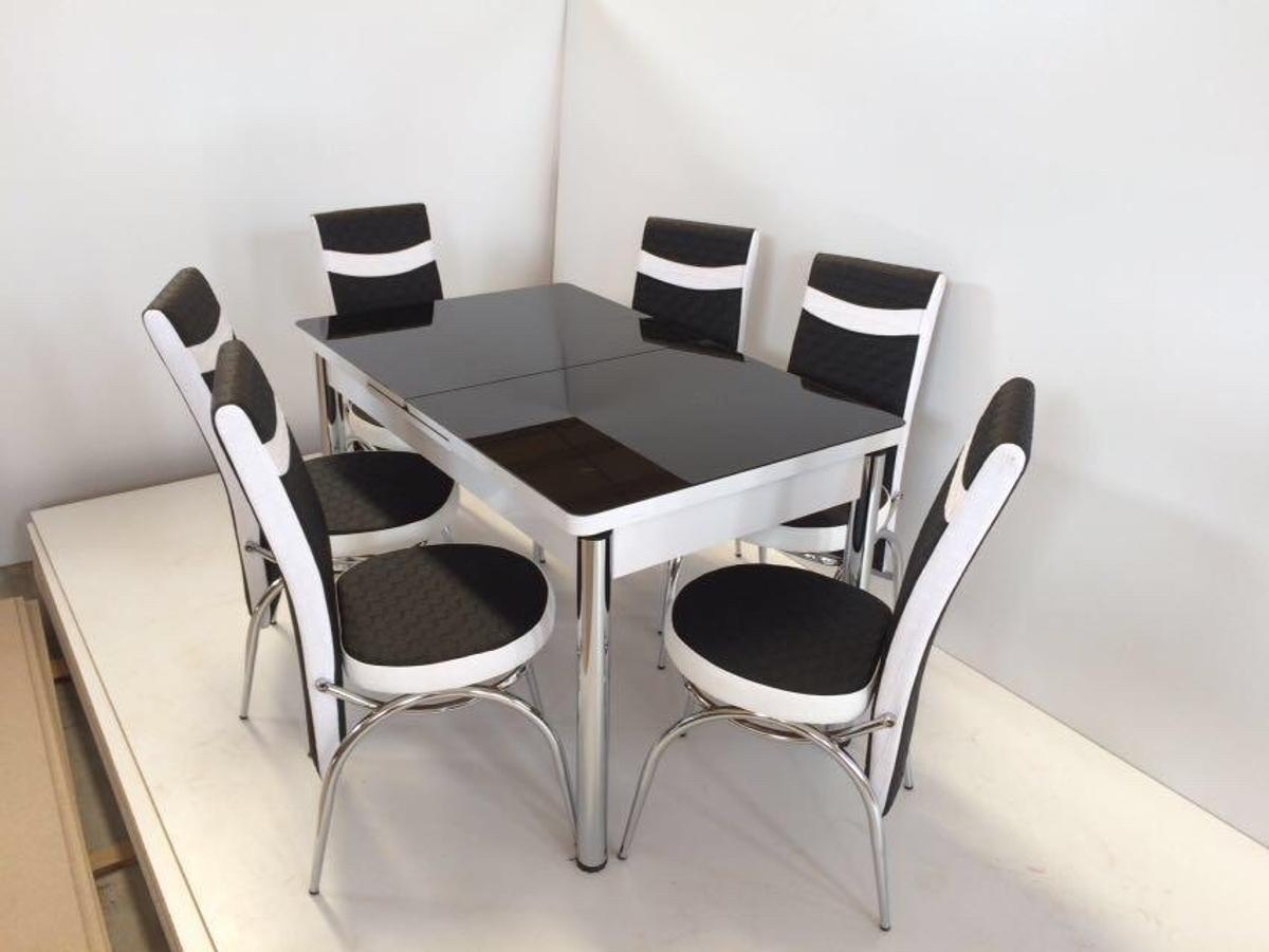 Table with 4 chairs 219£  Table with 6 chairs 259£  Brand new Cash on delivery