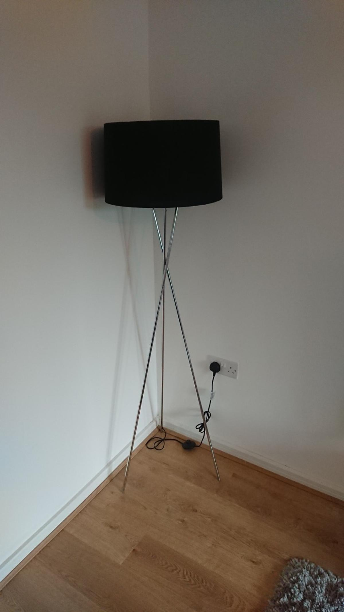 Picture of: Black Tripod Floor Lamp In M4 Manchester For 15 00 For Sale Shpock
