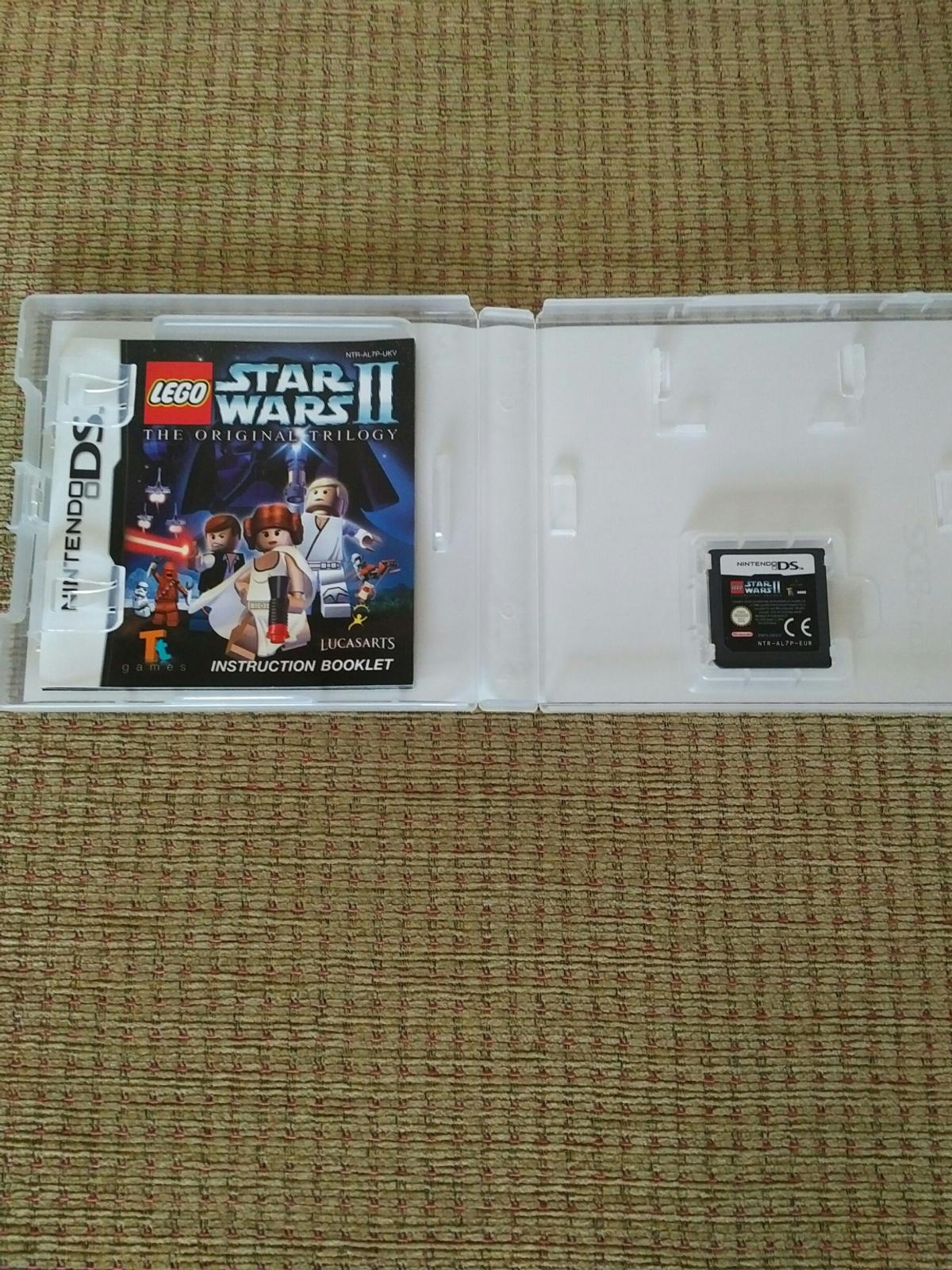 Nintendo DS game Lego Star Wars II the original trilogy aged 3 plus in original box with instructions.