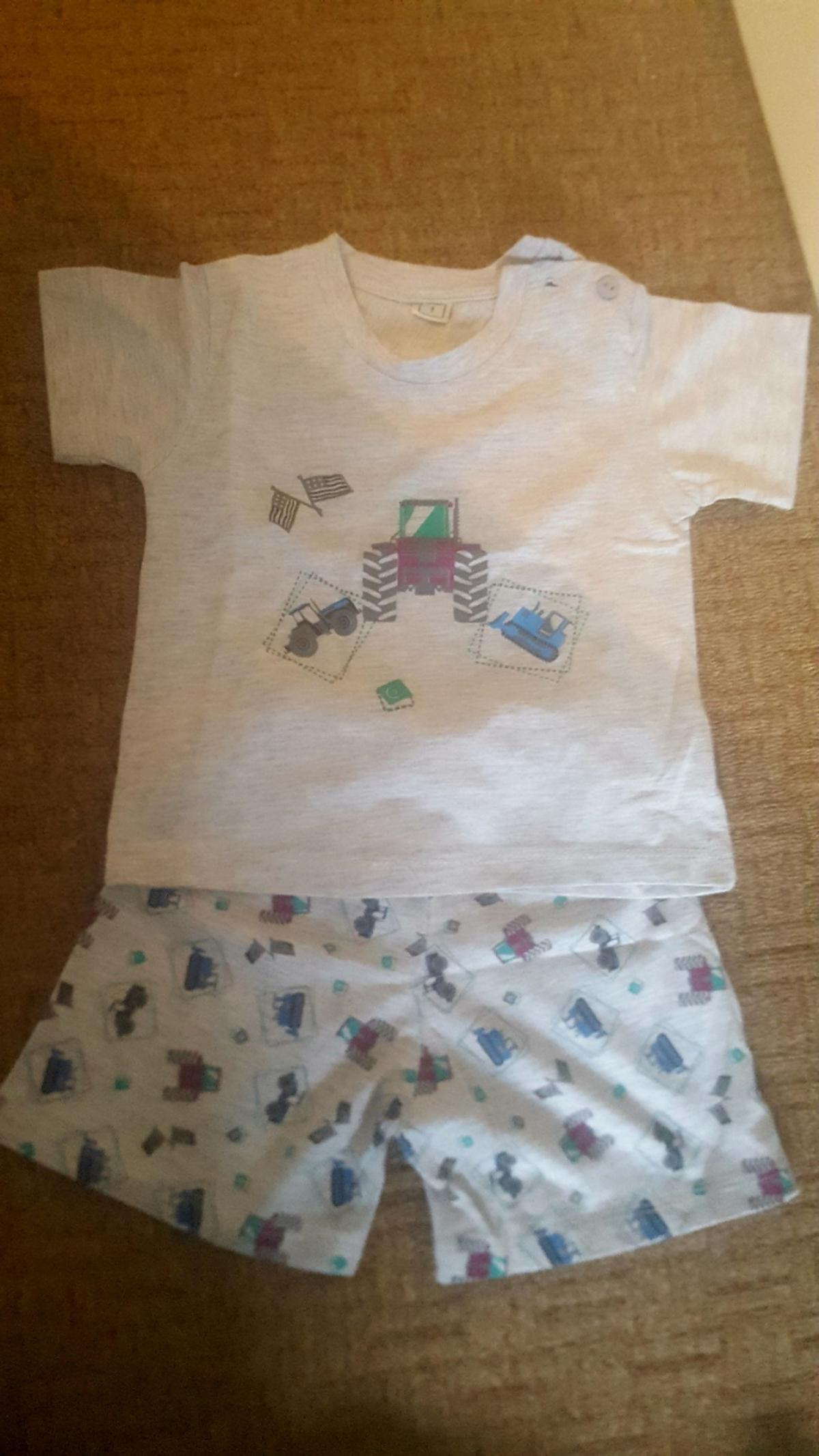 Brand new without tags baby boy summer outfit (pjs) - 9-12 months, unwanted gift. From smoke and pet free home. Collection S65 Rotherham