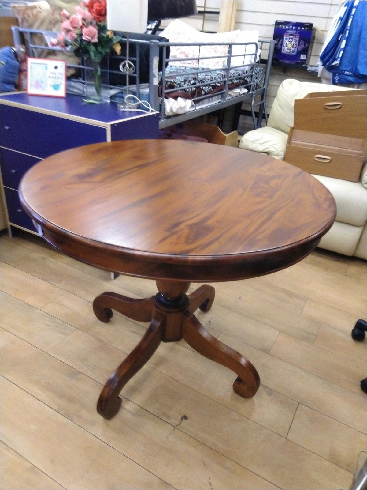 Solid Round Handcrafted Dining Table