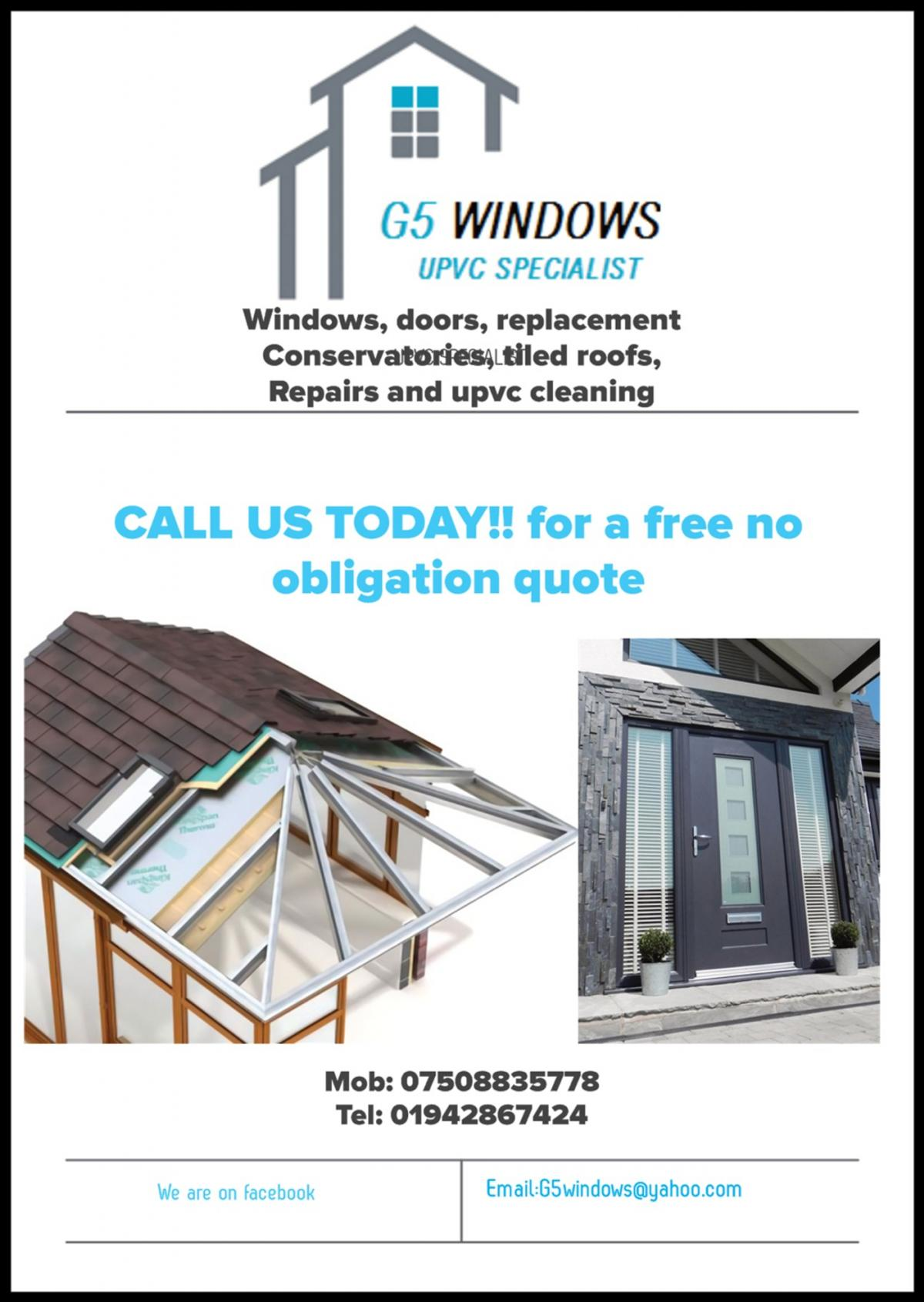 windows and doors supplied and fitted. repairs cleans double glazed units free quotation