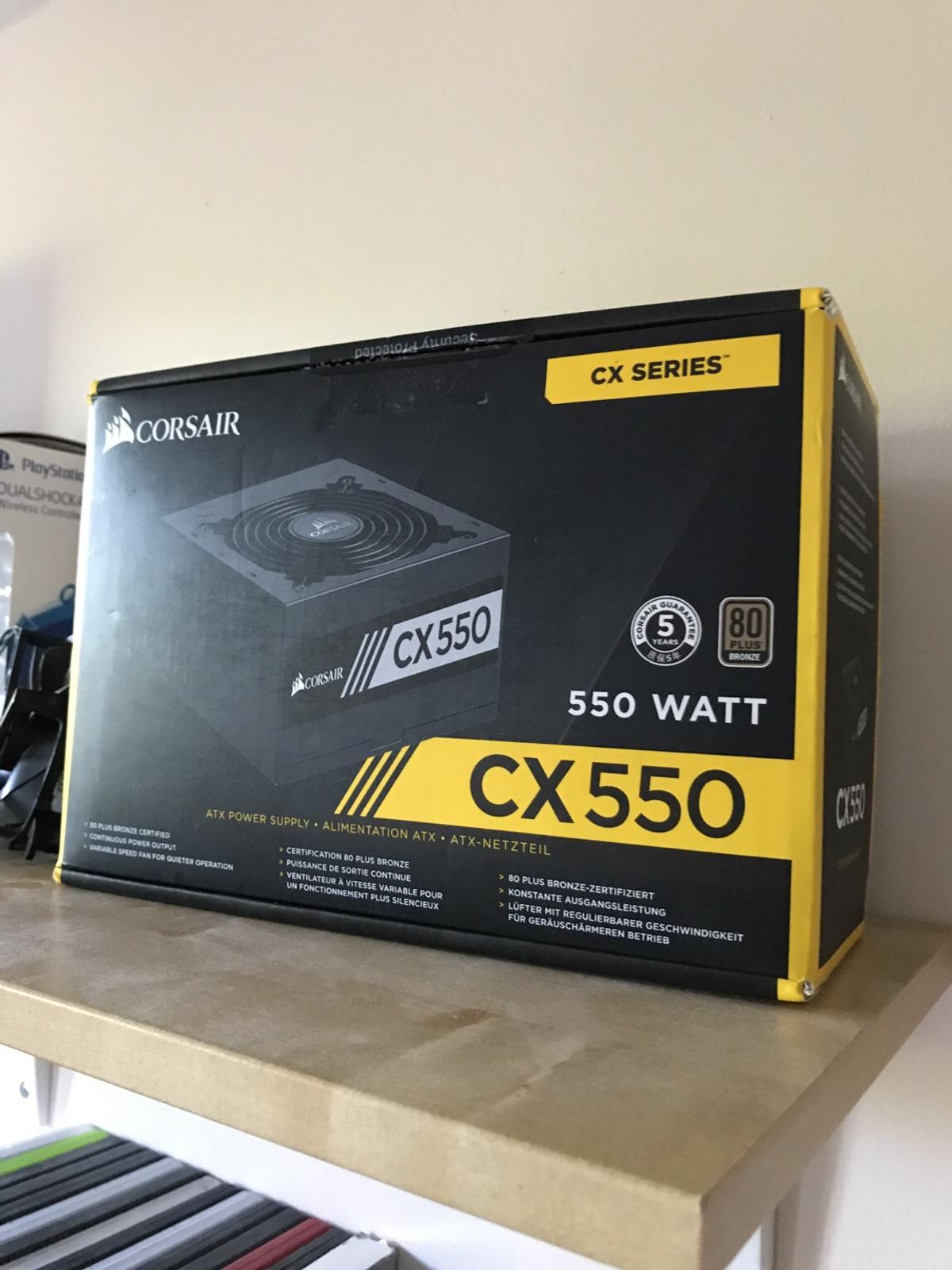 Corsair Cx 550 bronze certf  PSU