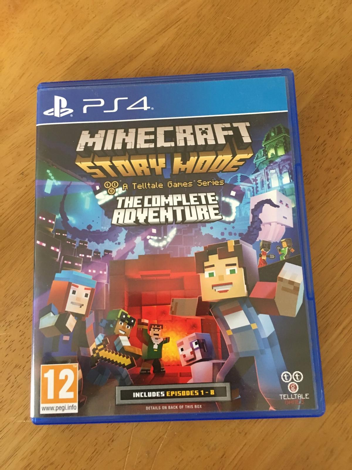 MINECRAFT STORY MODE PS4