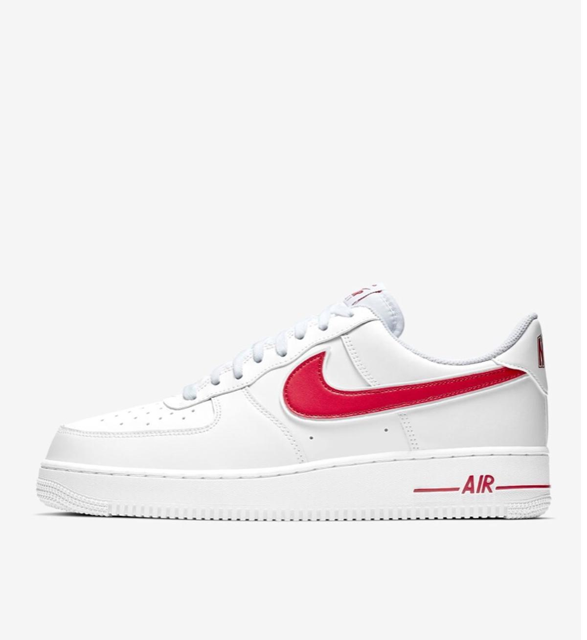 Nike Air Force 1 '07 White Red