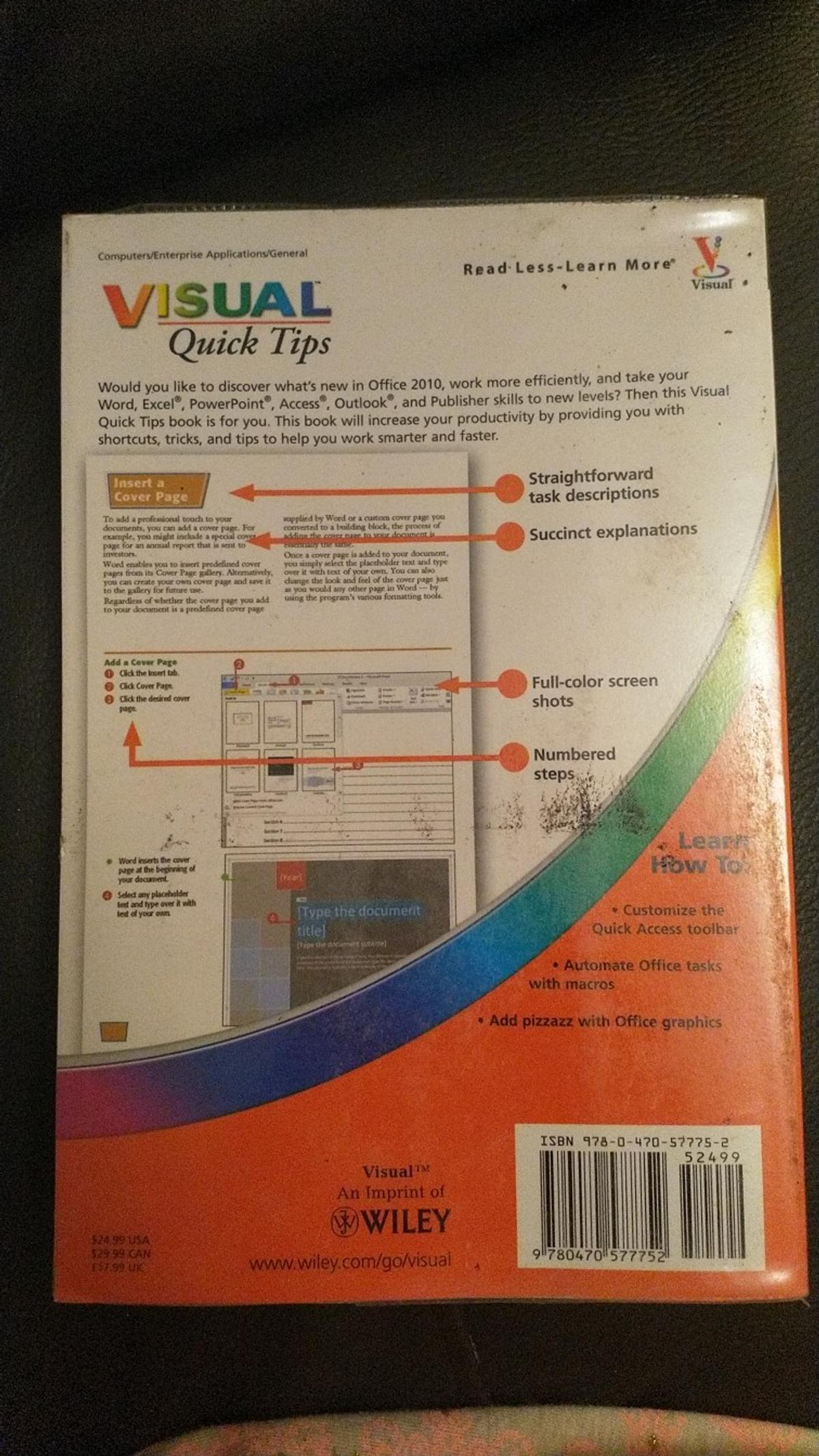 Microsoft Office 2010 Visual Quick Tips