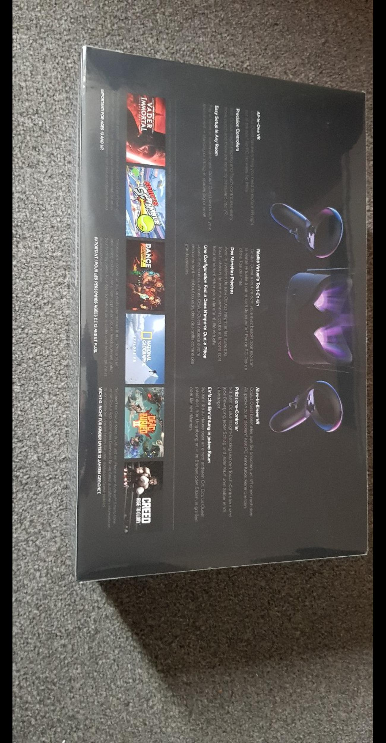 Oculus Quest All-in-one VR Gaming Headset – 1
