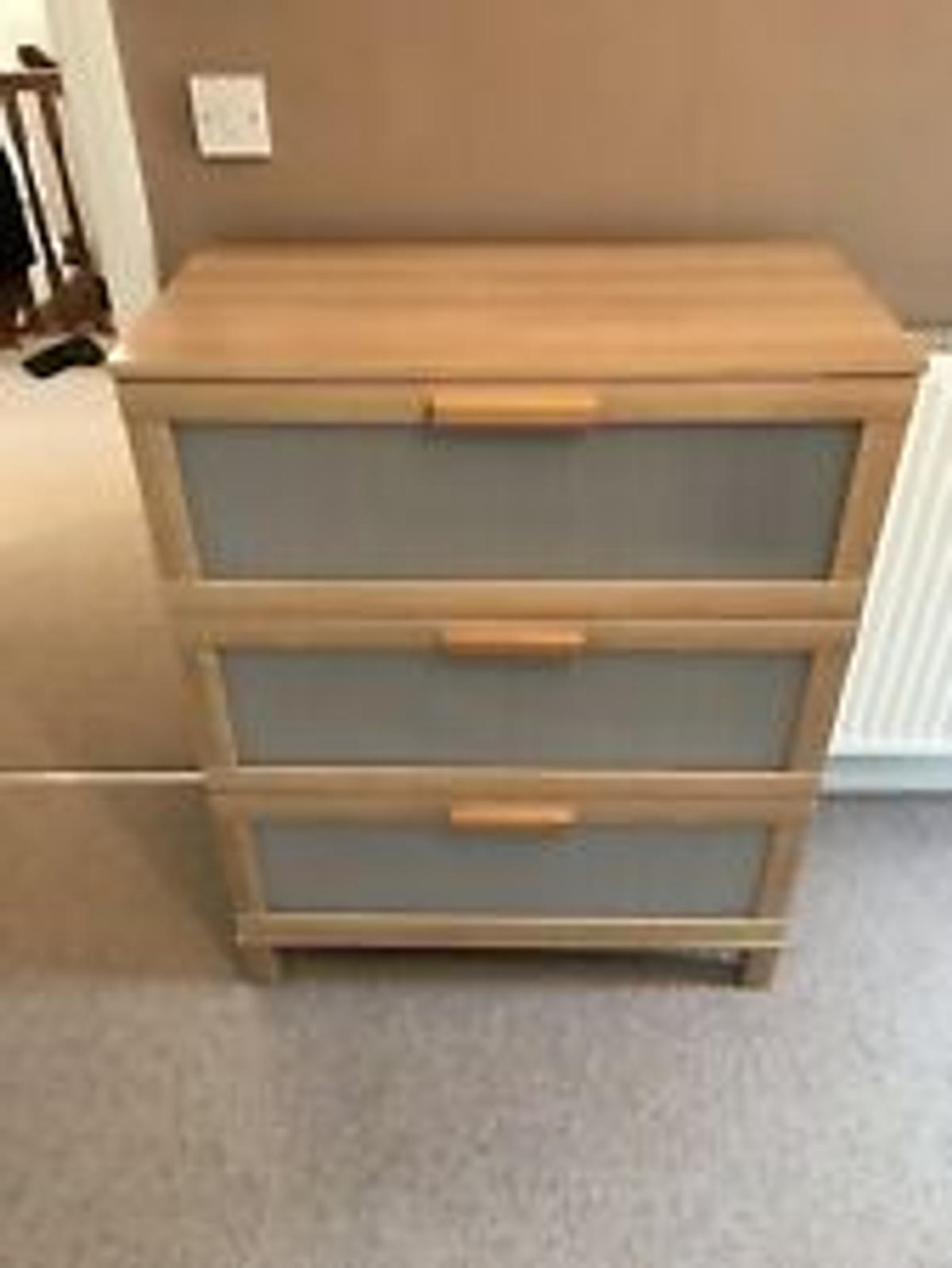 Ikea Brimnes Chest Of 3 Drawers In Se15