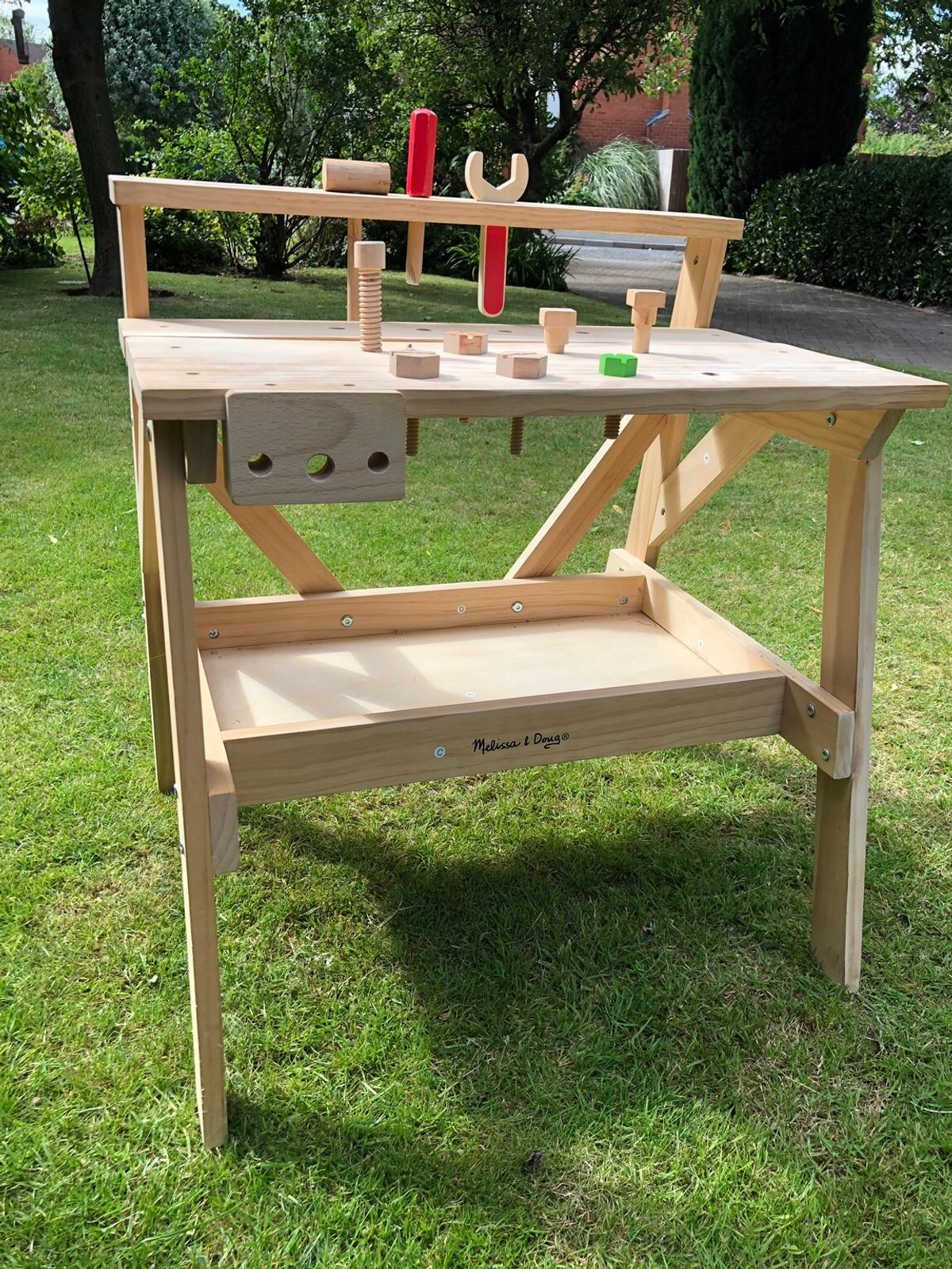 Amazing Melissa And Doug Childrens Work Bench Tools In Wychavon For Squirreltailoven Fun Painted Chair Ideas Images Squirreltailovenorg