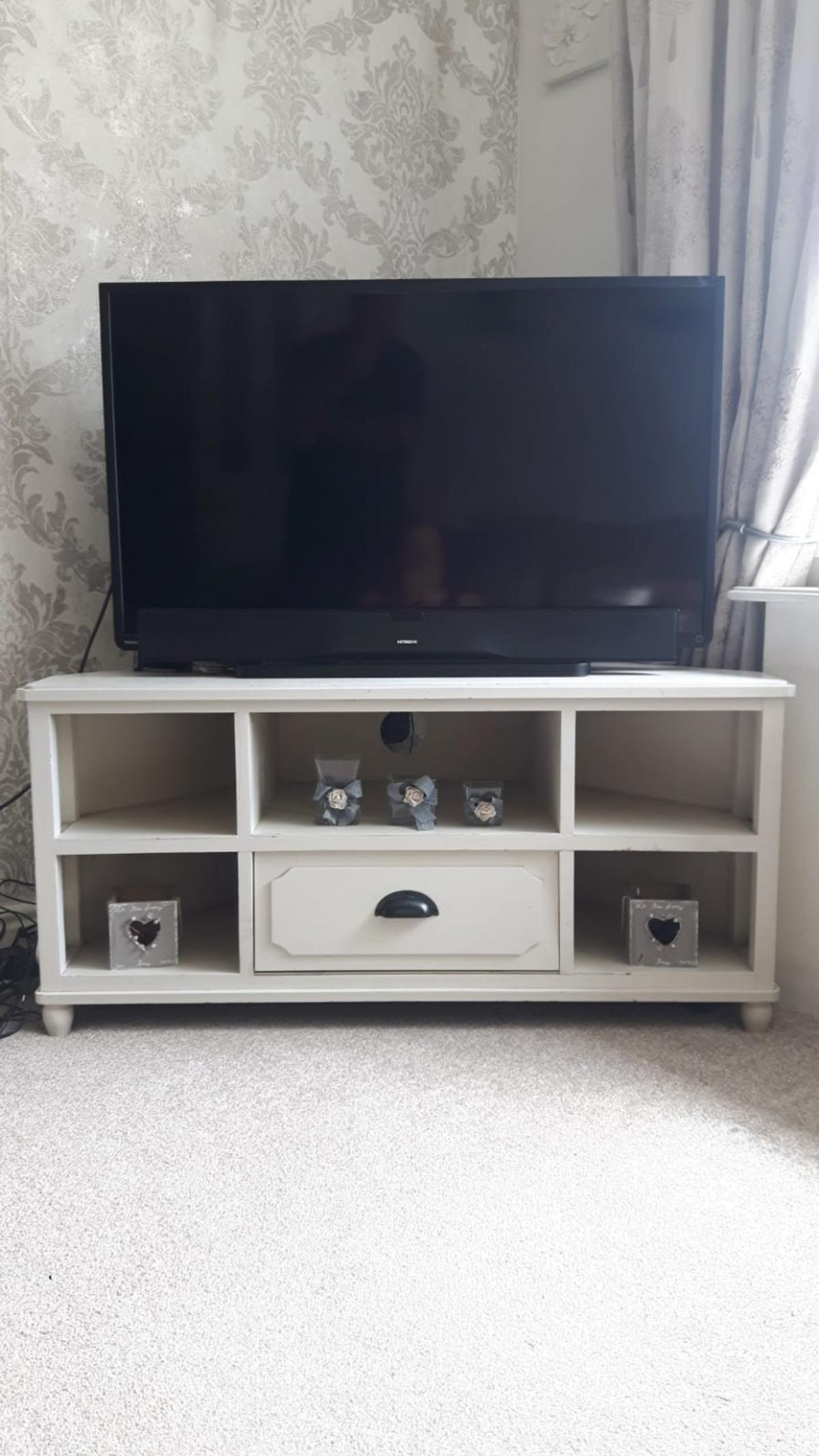 cheap for discount 9a1fb e87a0 cream/ivory corner tv unit Dunelm