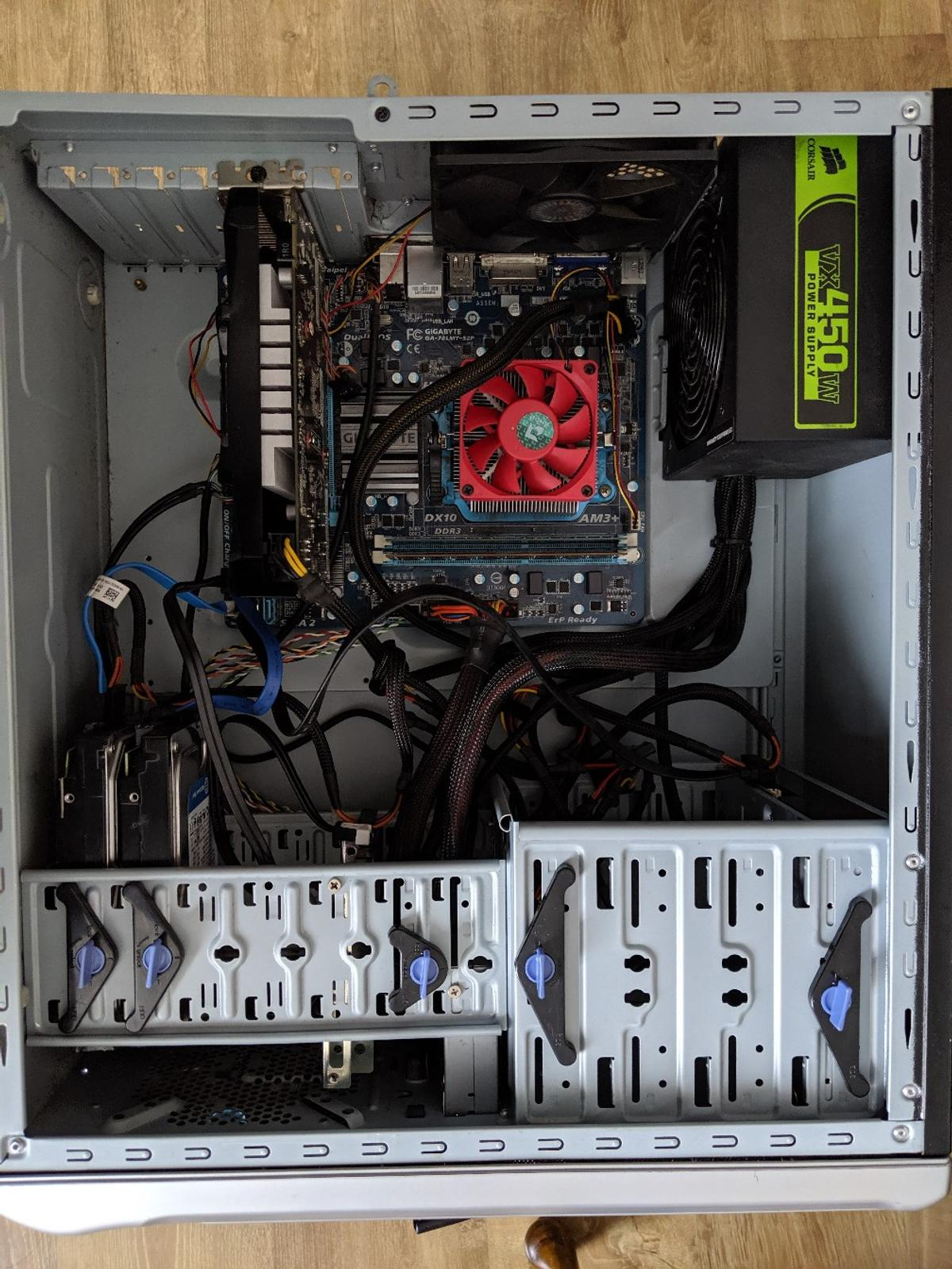 Amd gaming pc with monitor, keyboard & mouse in BD4 Bradford