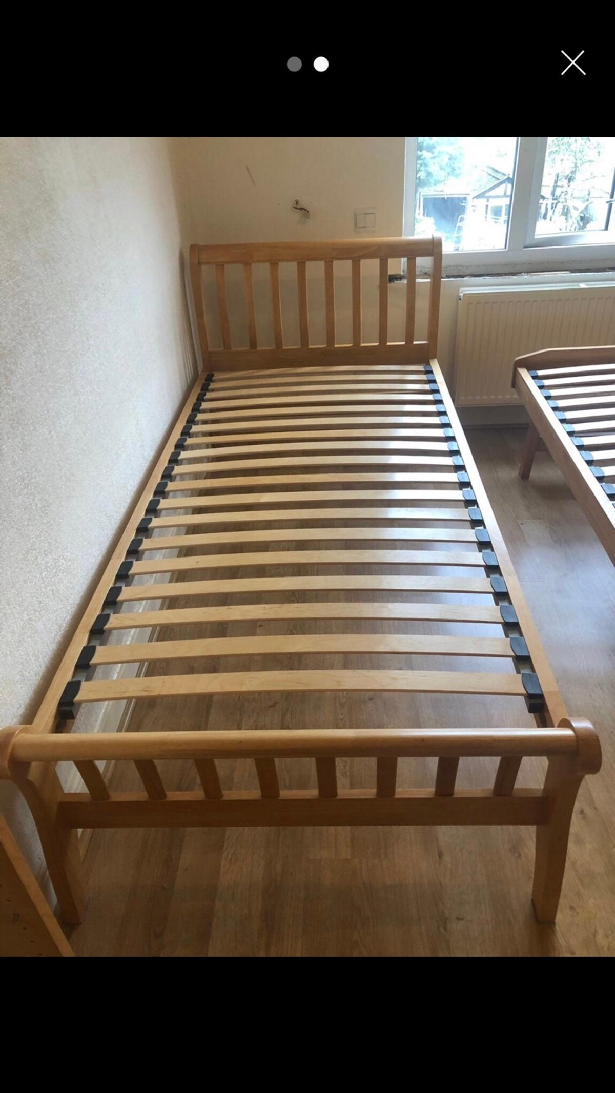 Single Sleigh Style Trundle Bed In Tw10 Thames For 120 00 For Sale Shpock