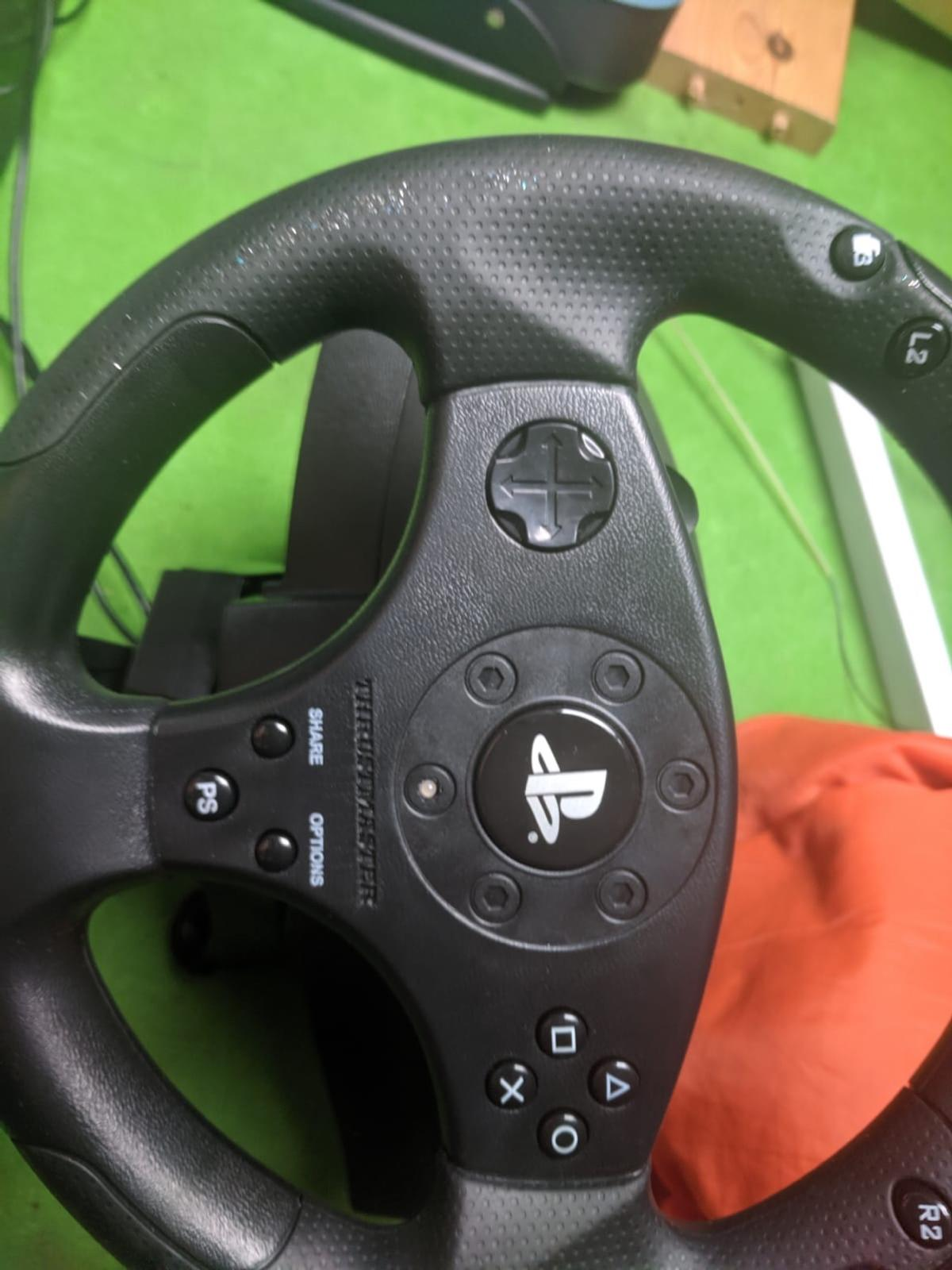 Thrust master T80 PS4 Steering Wheel+Pedals in LS7 Leeds for