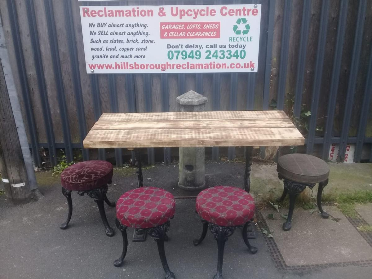 Cast Iron Table And Chairs Start At 25 In S6 Sheffield For