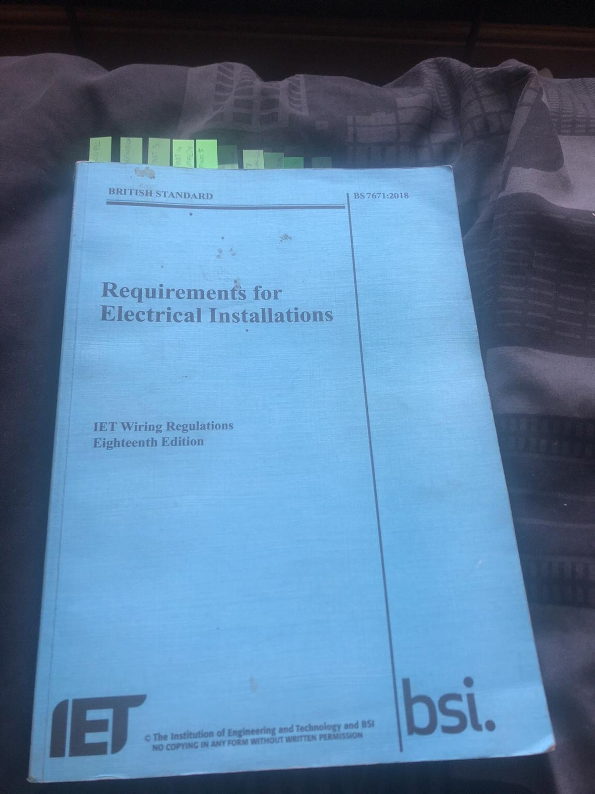 Iee Wiring Regulations 17th Edition Book