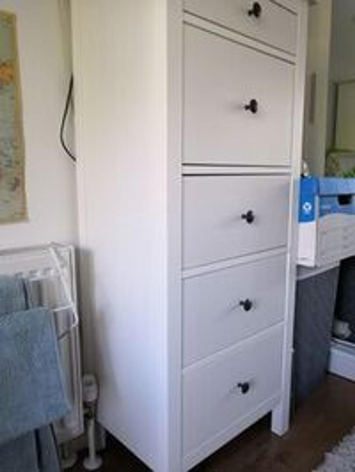 Ikea Hemnes Tall Chest Of Drawers In