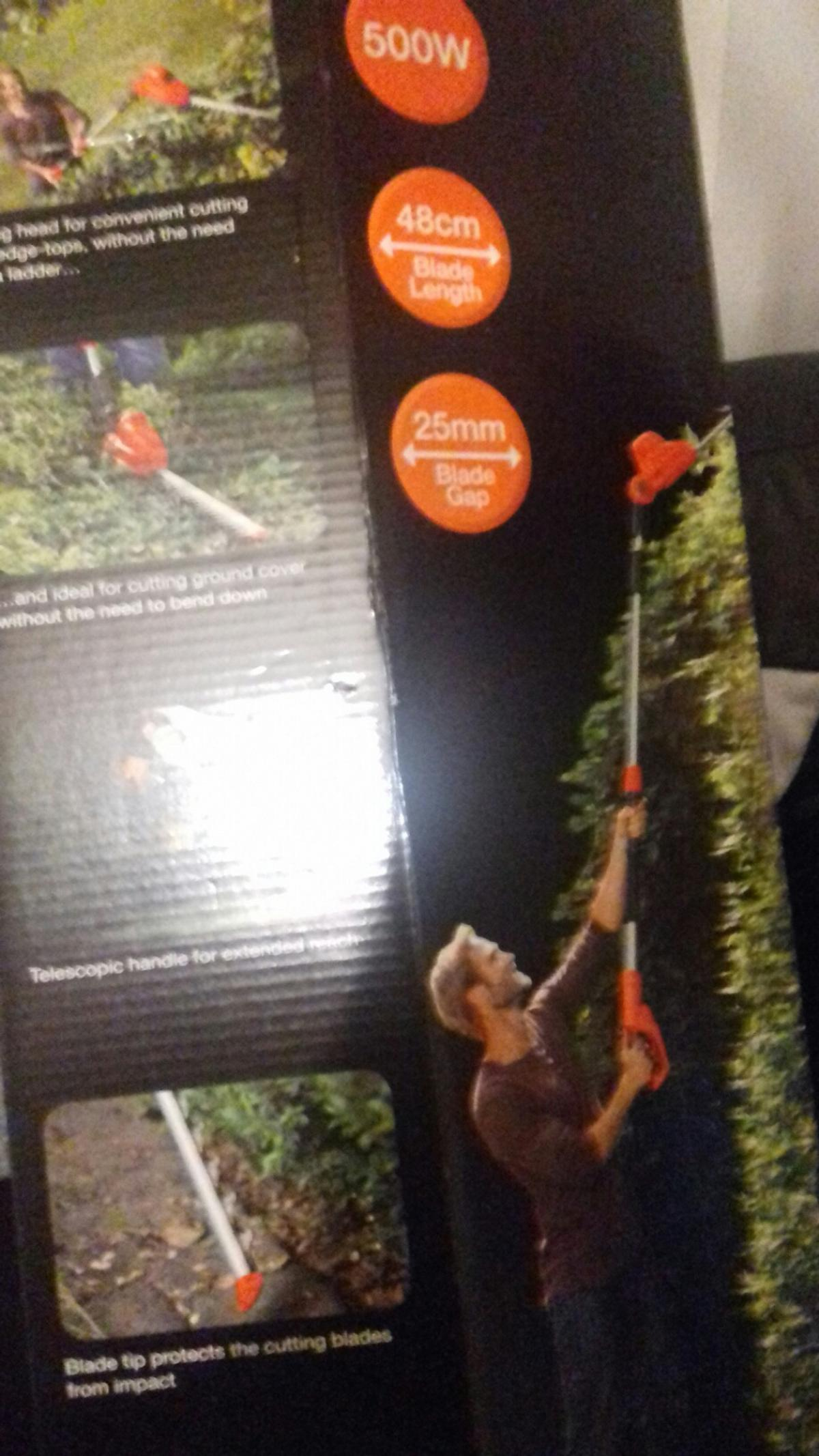 Flymo Sabre Cut Hedge and Ground Trimmer new