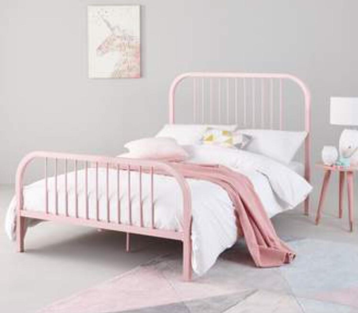 New Harper Small Double Bed Frame Pink In Northwich For 60 00 For Sale Shpock