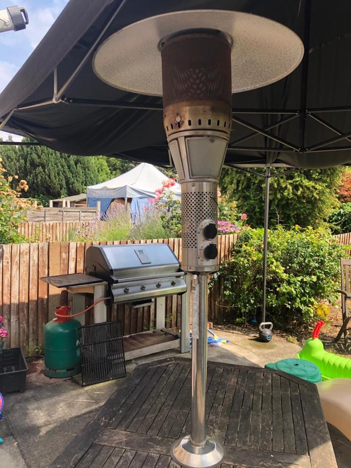 Patio Table Heater With Light In Se16