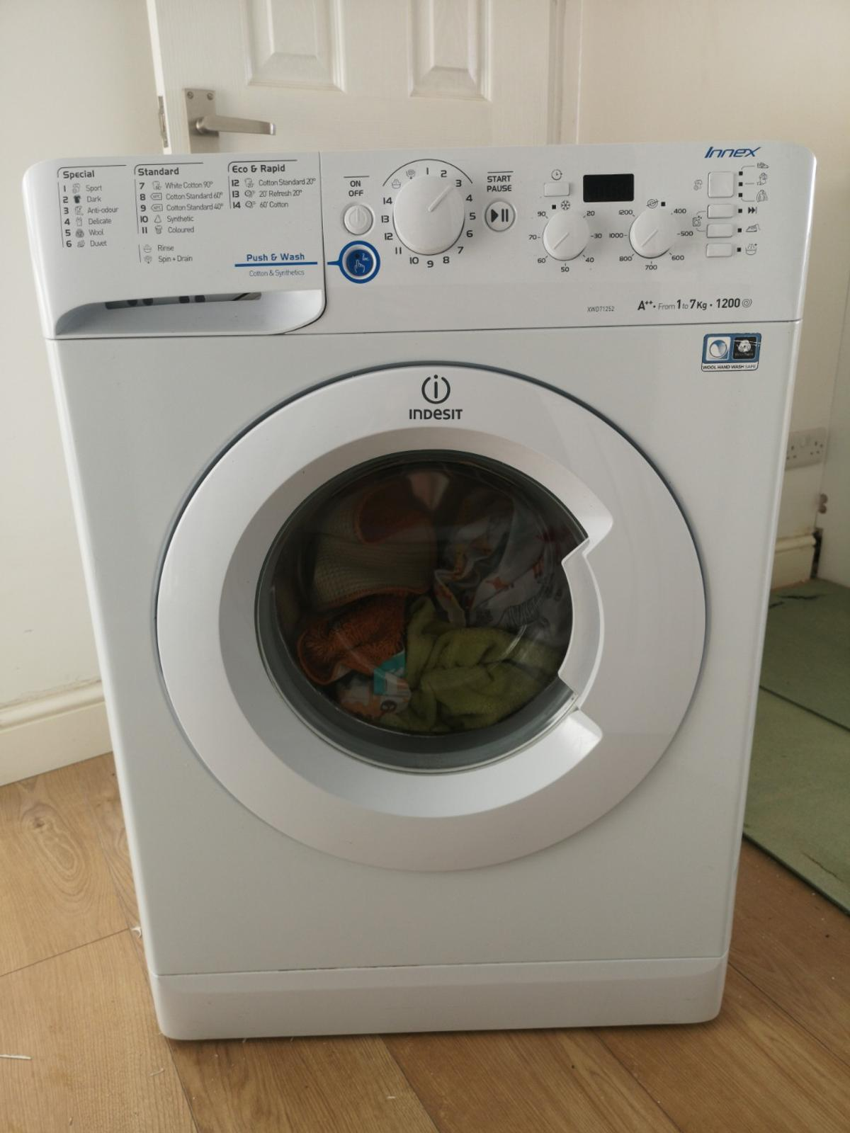 Indesit Xwd 0871252 7kg,1200, Washing Machine