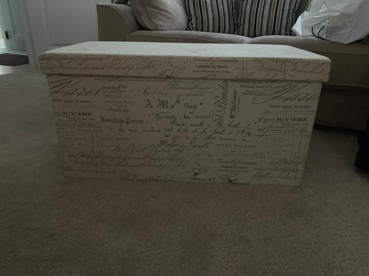 Prime Large Fabric Script Ottoman In Rm16 South S Ord Fur 7 Squirreltailoven Fun Painted Chair Ideas Images Squirreltailovenorg