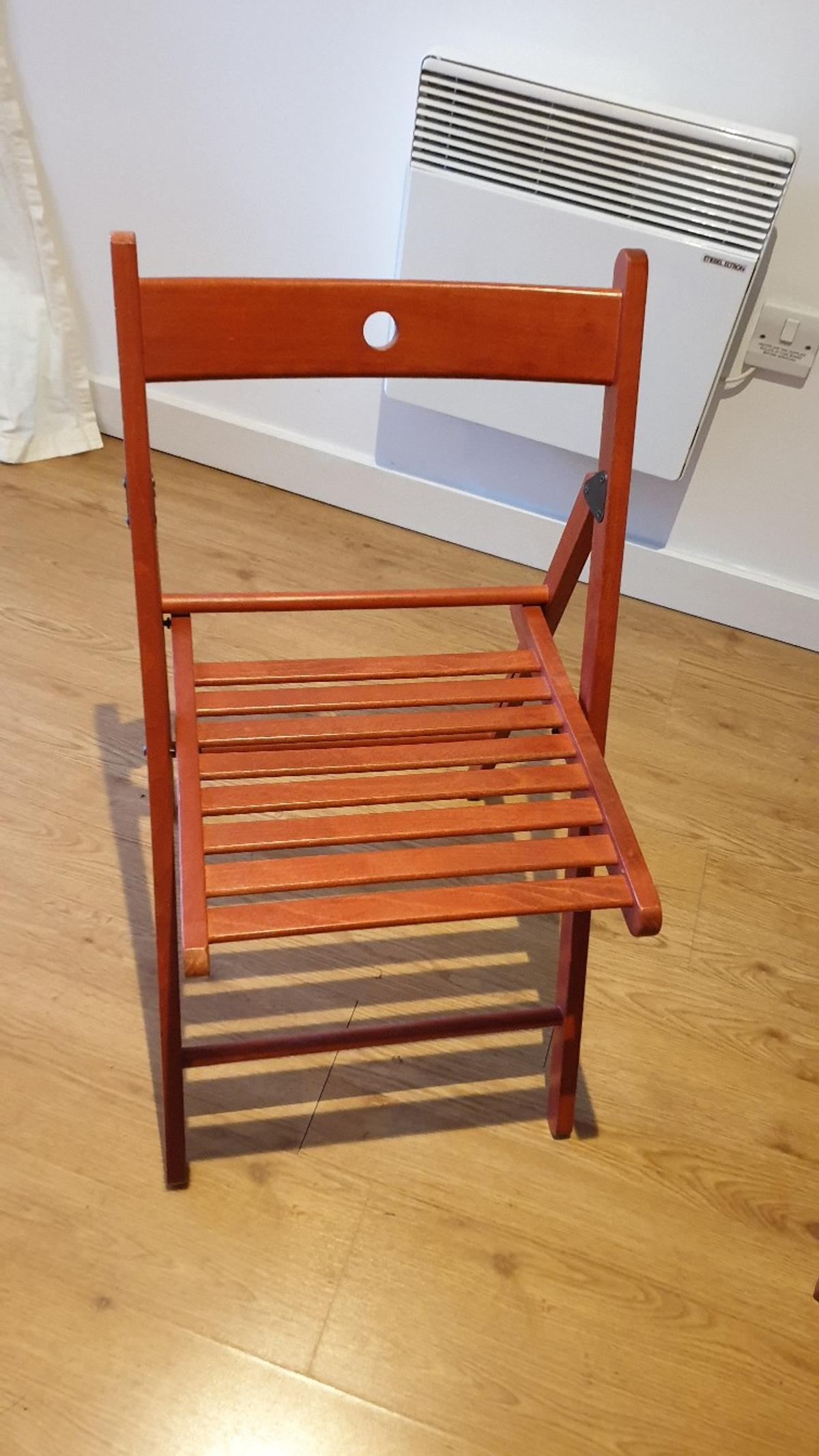4 Folding Chairs Ikea Terje In E3 London Fur 28 00 Zum