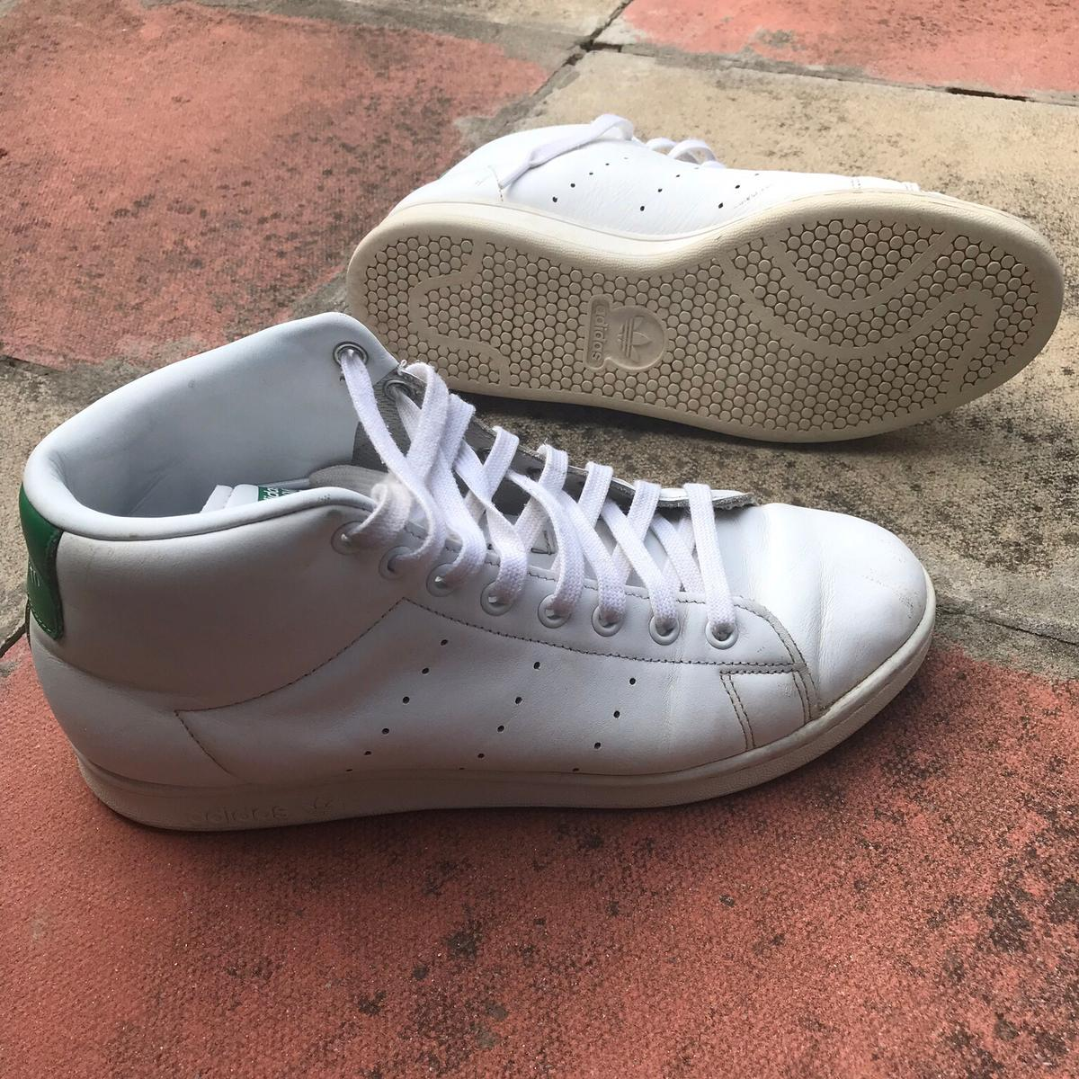 sports shoes 40be3 5599b Adidas Stan Smith Mid. Uk 9. White