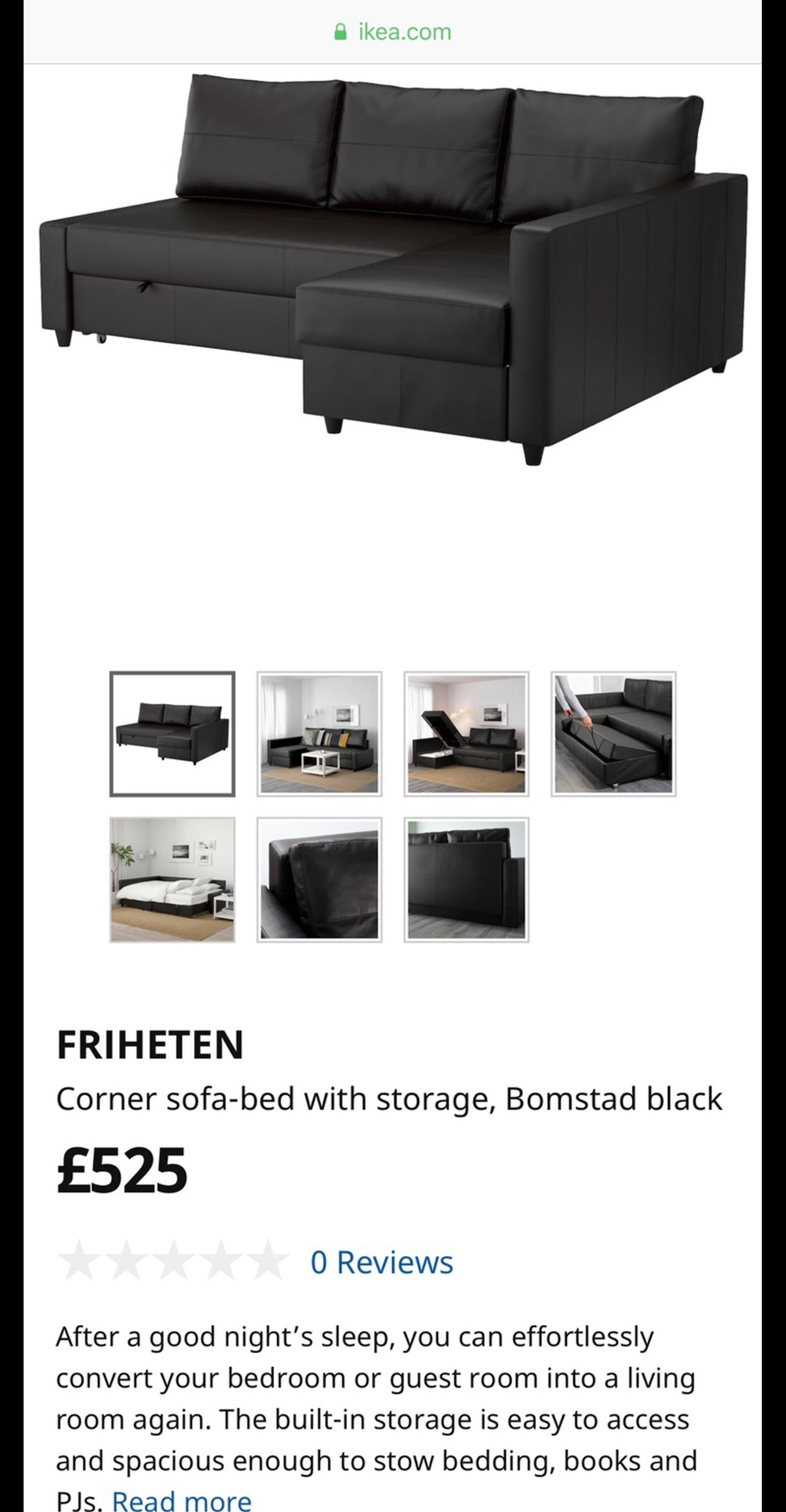 Marvelous Ikea Corner Sofa Bed With Storage In W2 Westminster For Onthecornerstone Fun Painted Chair Ideas Images Onthecornerstoneorg